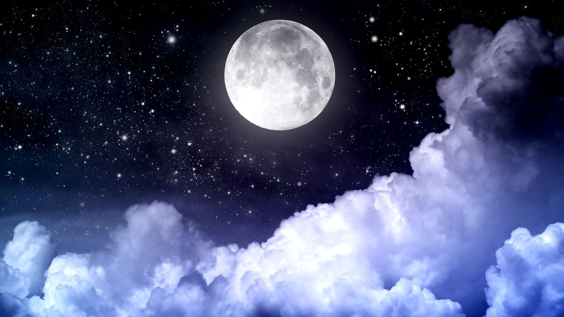 Top Free HD Moon Backgrounds