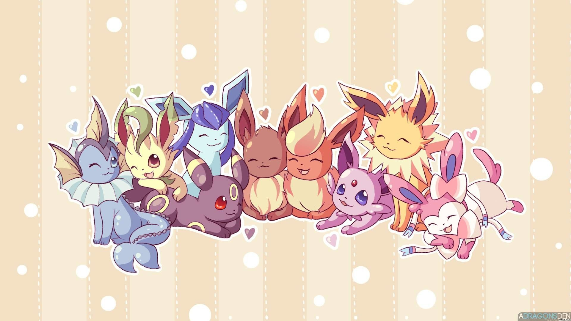 All Eevee Evolutions Wallpapers - Top Free All Eevee