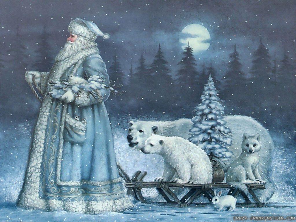 Polar Bear Christmas Wallpapers Top Free Polar Bear Christmas Backgrounds Wallpaperaccess