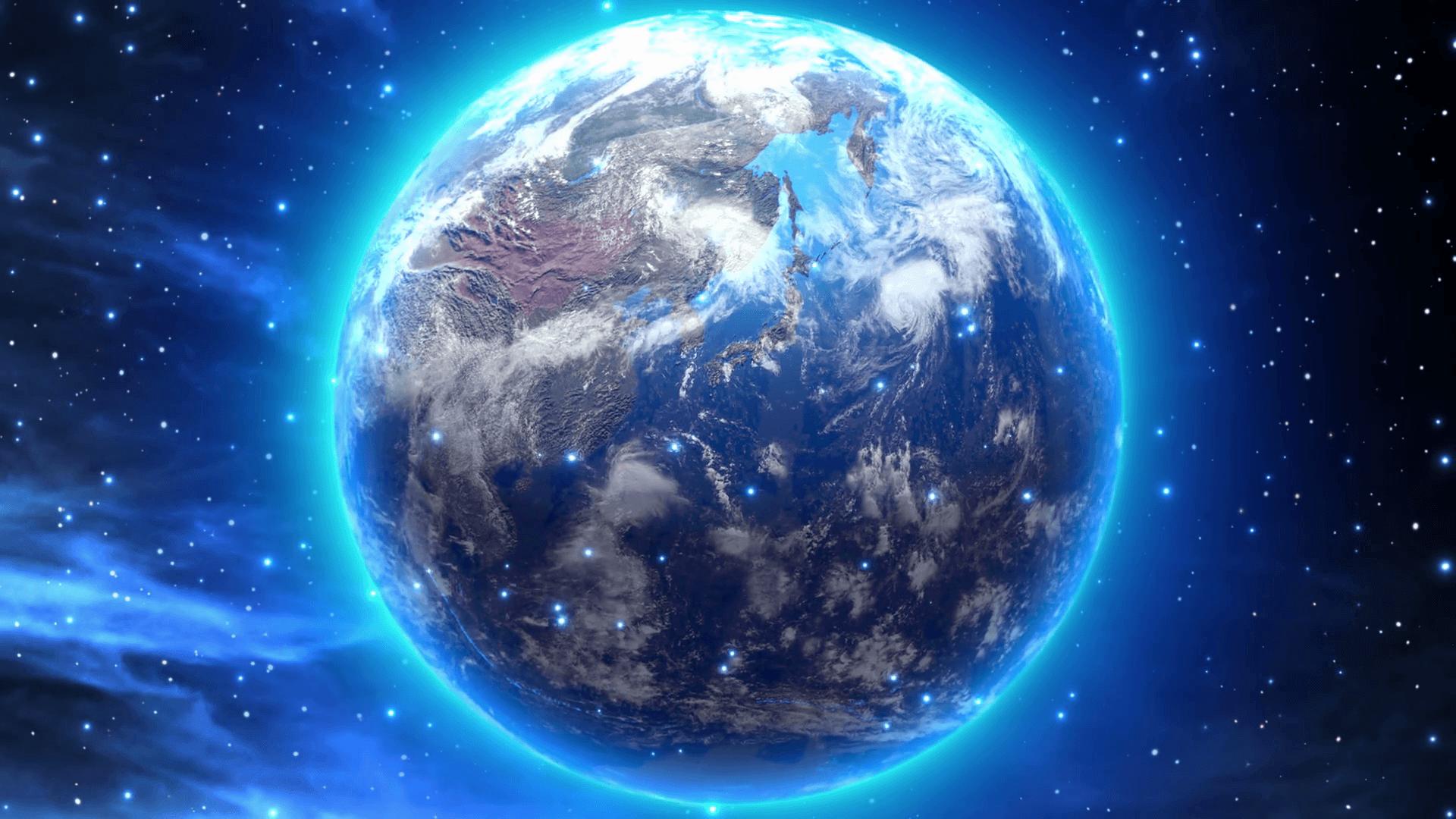 много картинка планета земля на фоне космоса платье