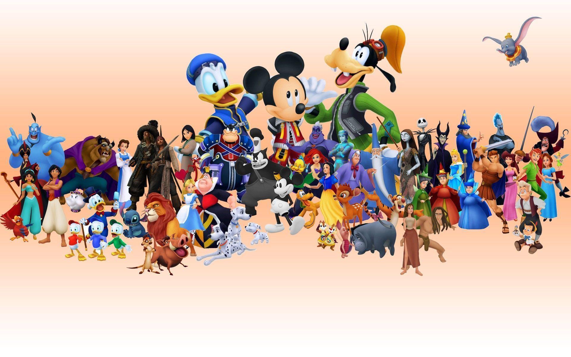 Cute Disney Characters Desktop Wallpapers Top Free Cute Disney Characters Desktop Backgrounds Wallpaperaccess