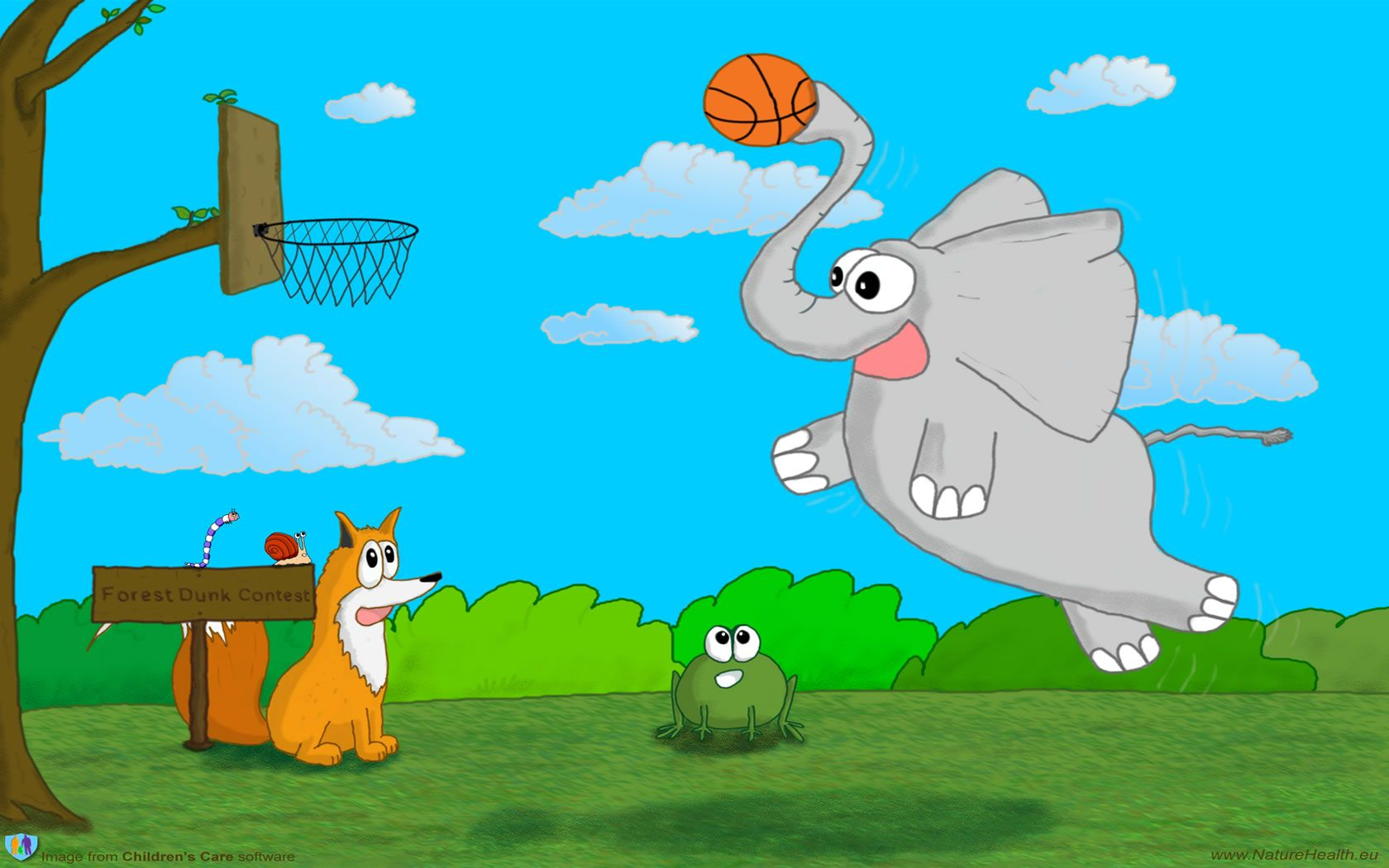 Basketball Cartoon Wallpapers: Basketball Cartoon Wallpapers
