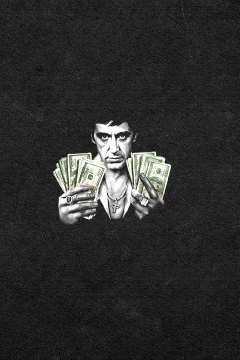 Scarface iphone wallpapers top free scarface iphone - Scarface background ...