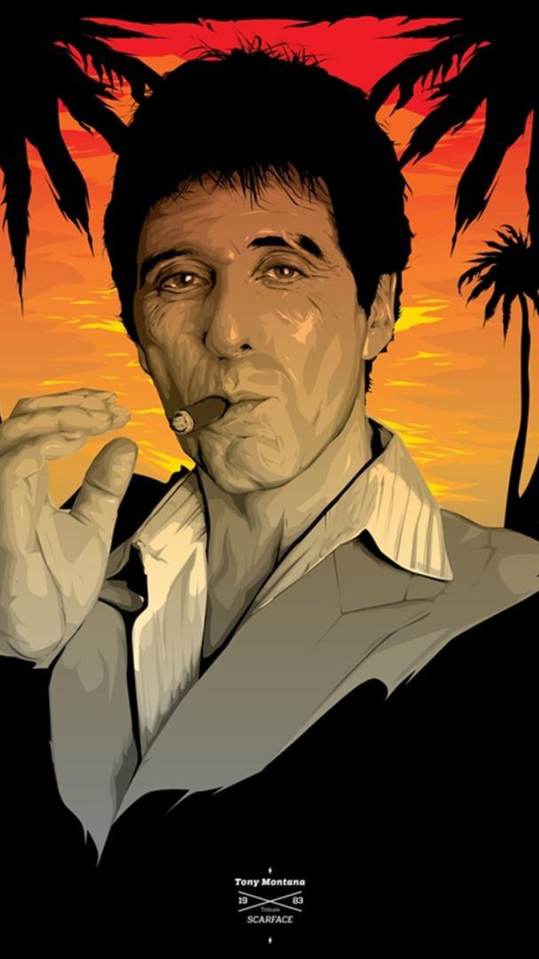 Scarface iphone wallpapers top free scarface iphone - Scarface wallpaper iphone ...