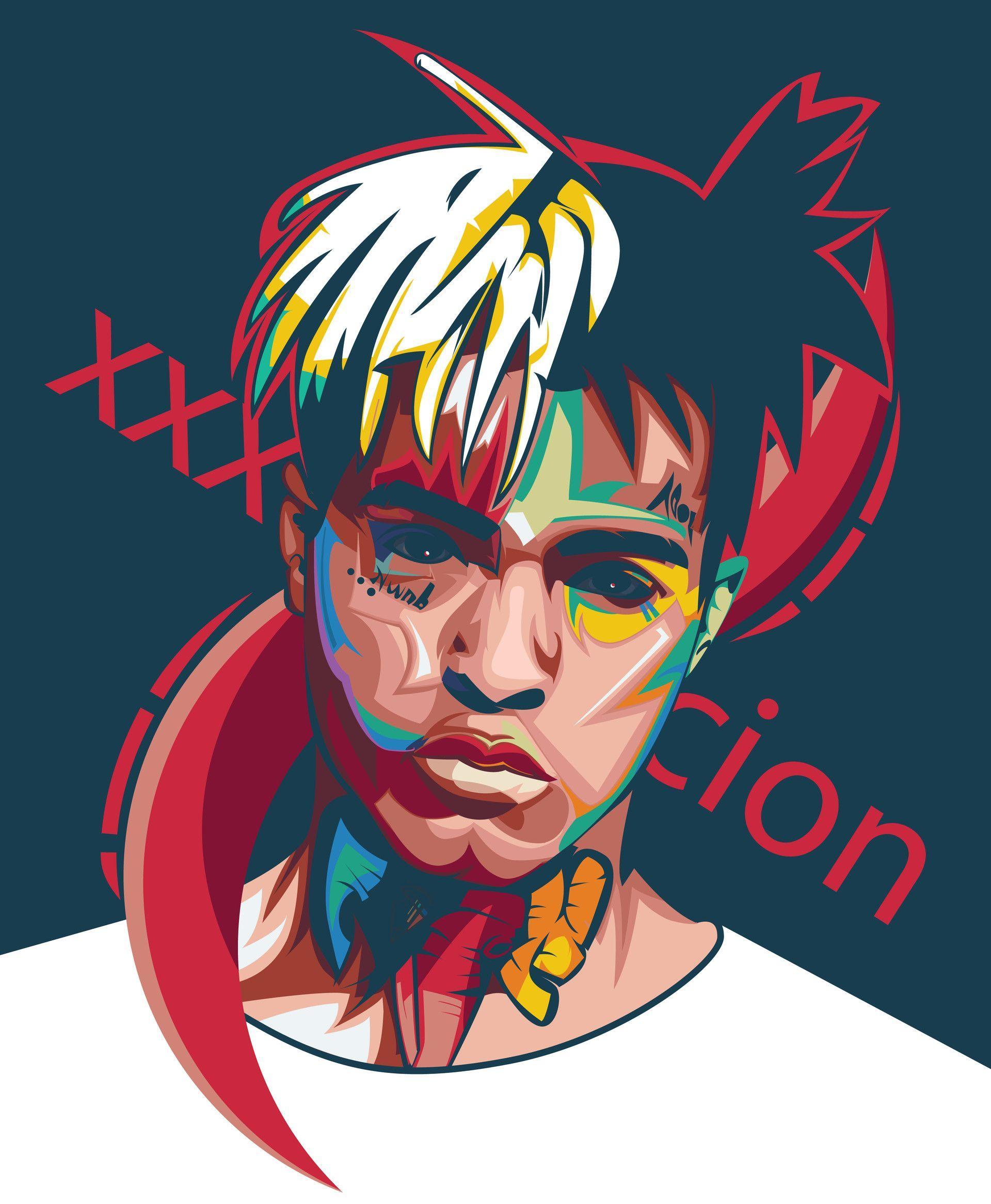 Xxxtentacion Cartoon 1080X1080 Wallpapers