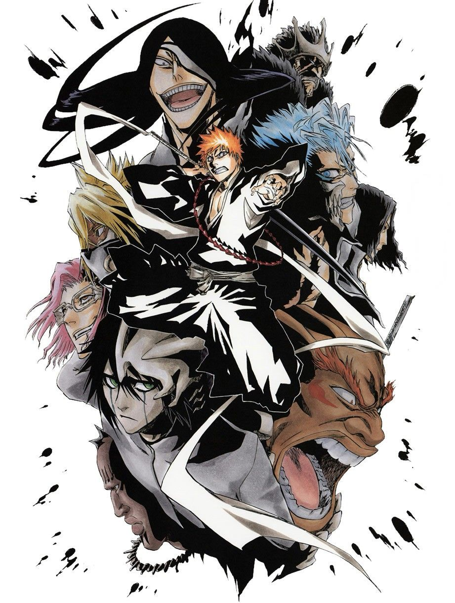Bleach Iphone Wallpapers Top Free Bleach Iphone Backgrounds
