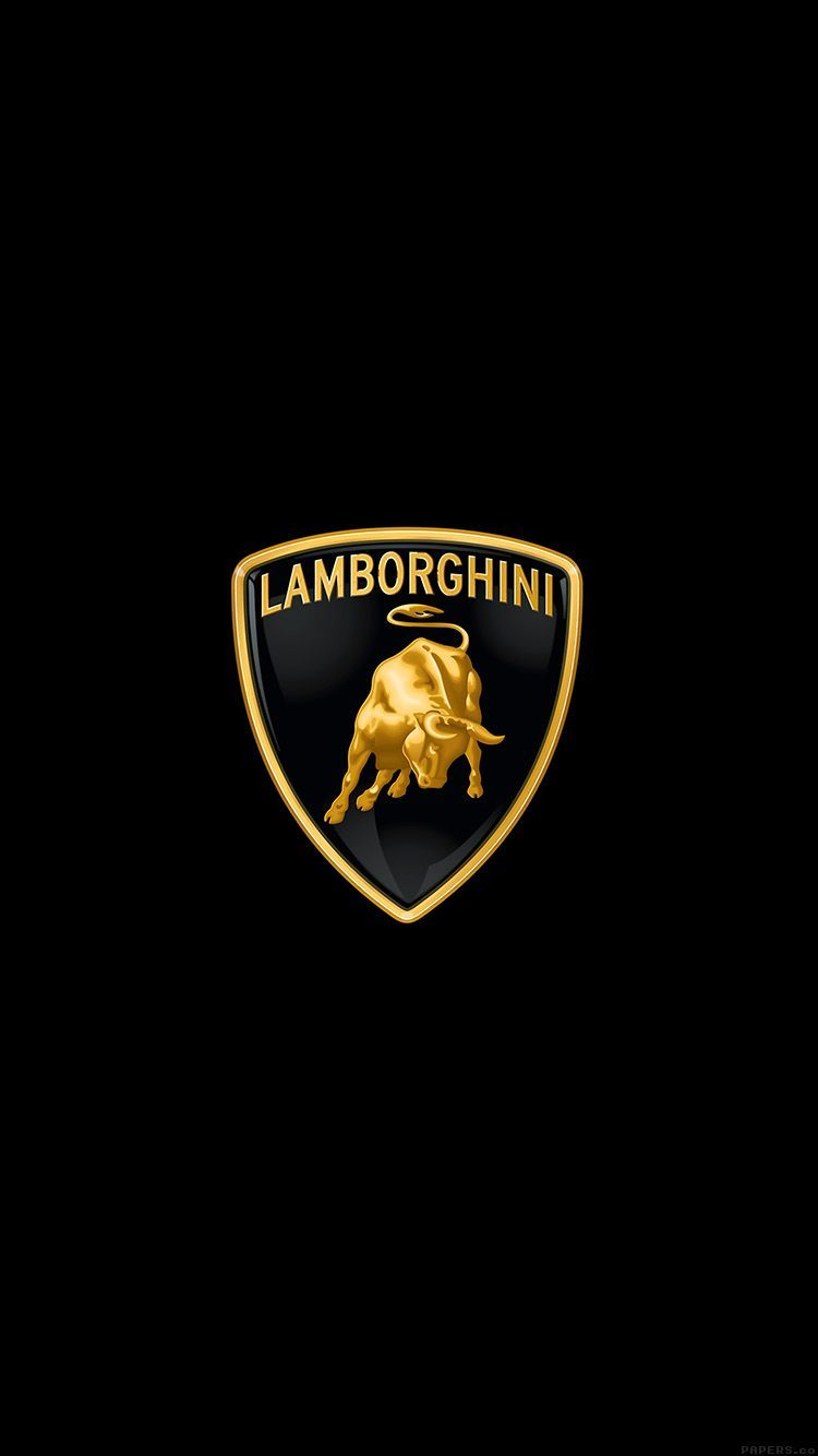Lamborghini Logo Iphone Wallpapers Top Free Lamborghini Logo Iphone Backgrounds Wallpaperaccess