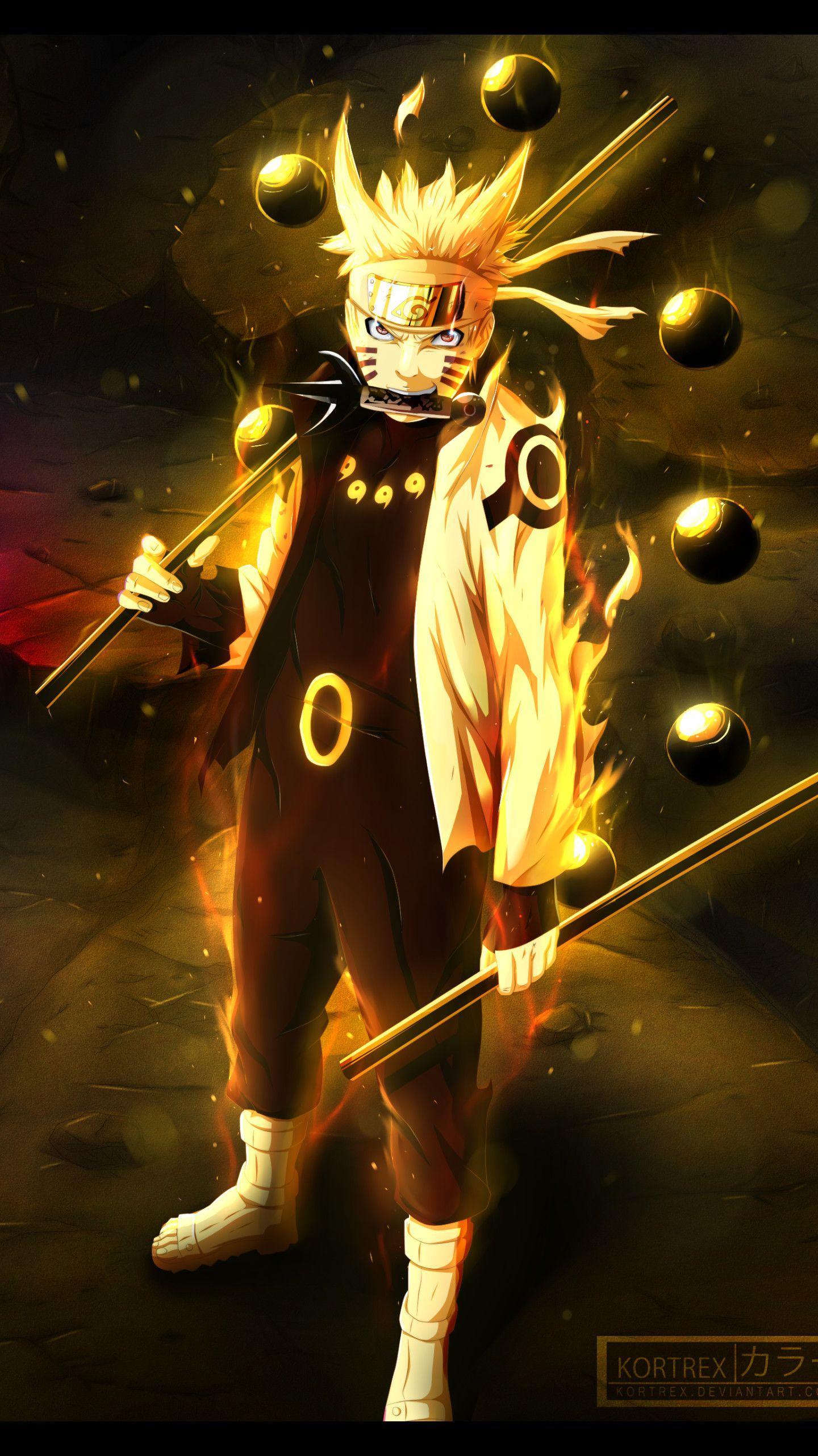 Naruto Bijuu Mode Wallpapers Top Free Naruto Bijuu Mode