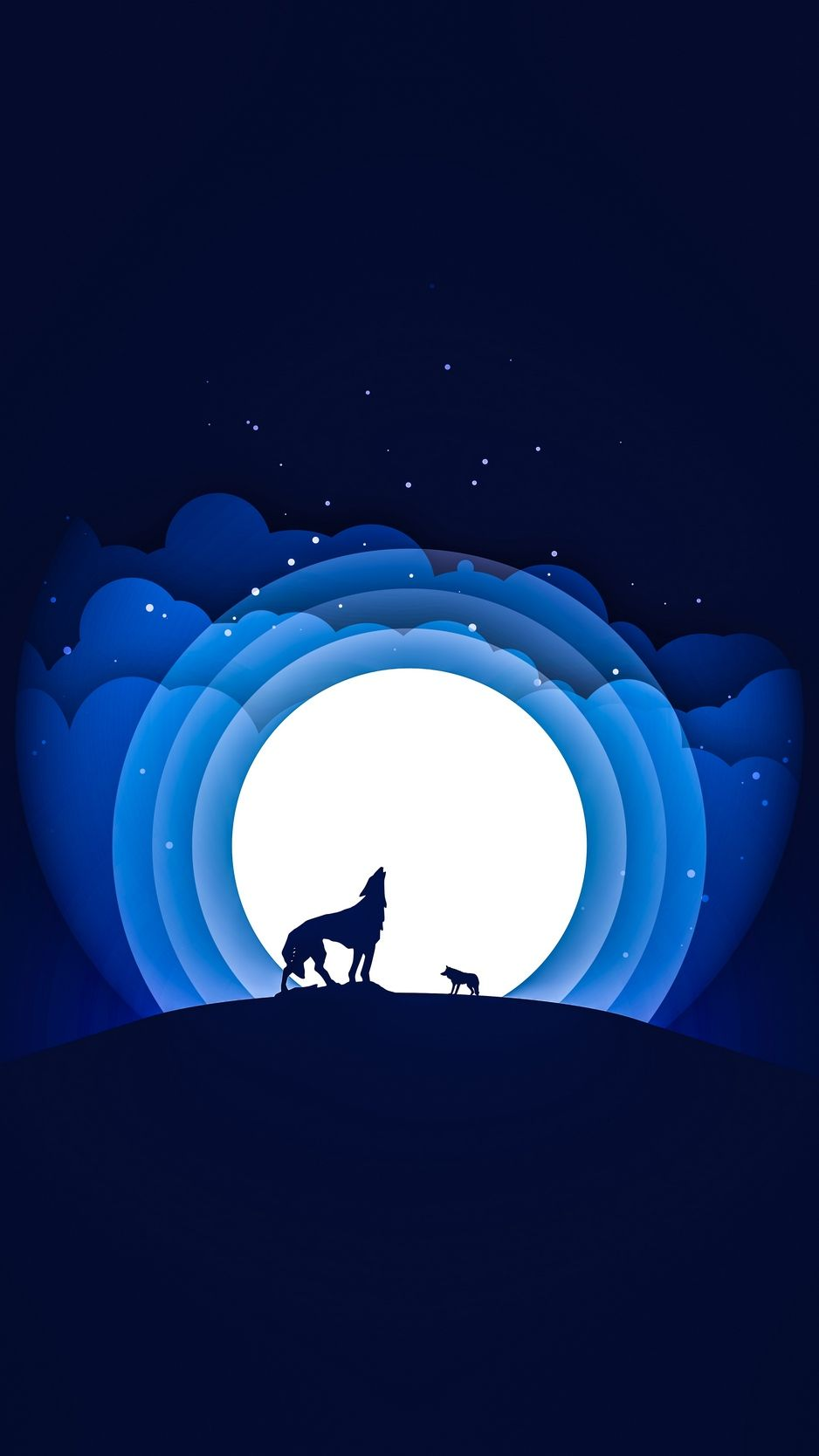 Wolf Moon iPhone Wallpapers   Top Free Wolf Moon iPhone ...