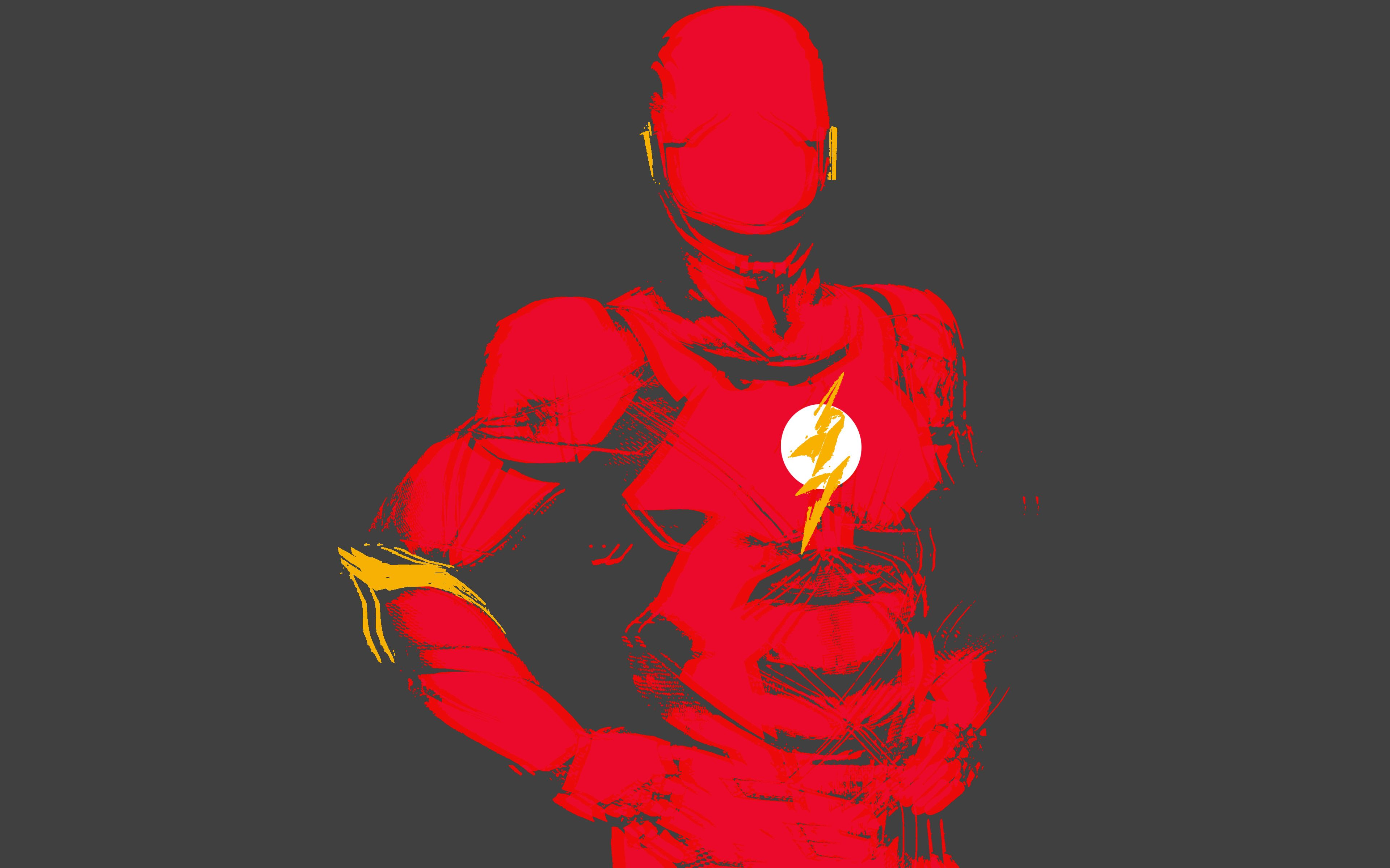 The Flash Logo 4k Wallpapers Top Free The Flash Logo 4k