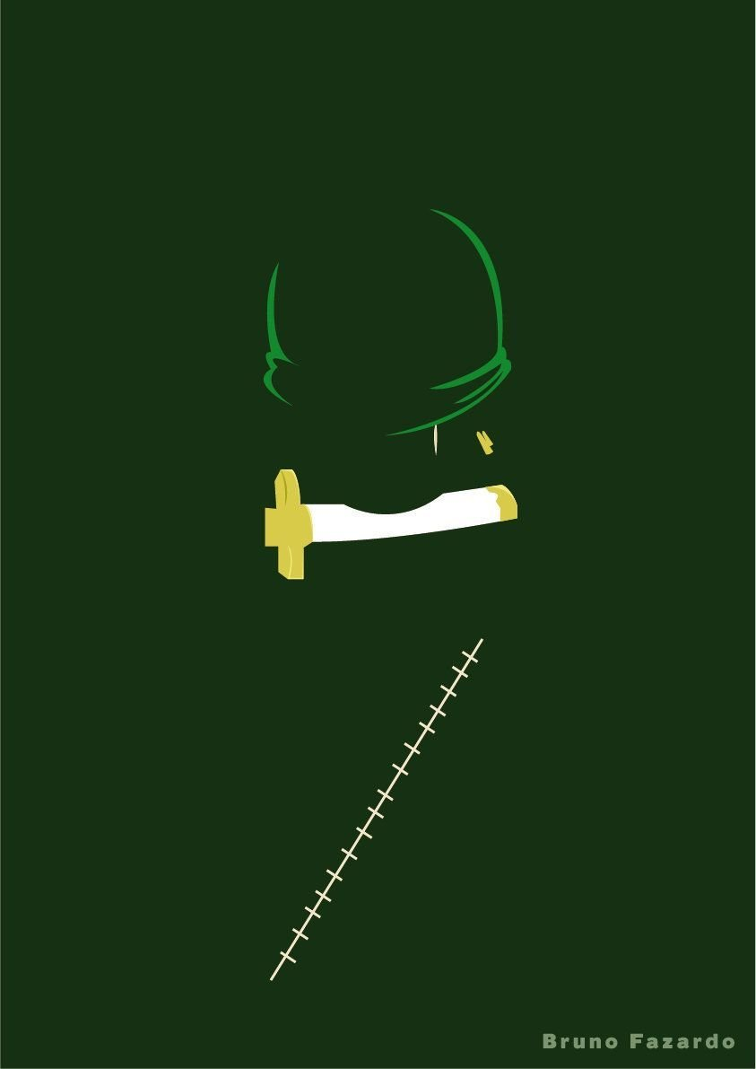 Minimalist Zoro Phone Wallpapers Top Free Minimalist Zoro Phone Backgrounds Wallpaperaccess