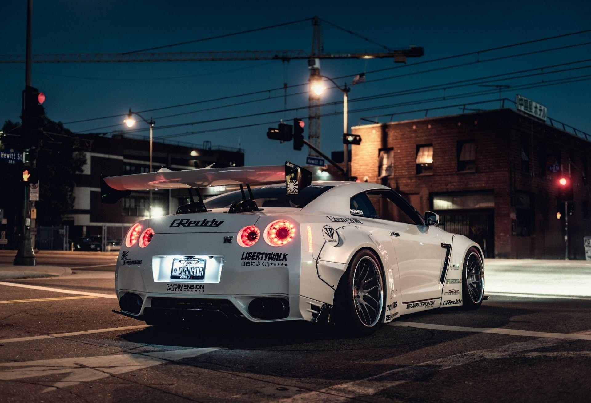 Nissan GT-R Liberty Walk 4K Wallpapers