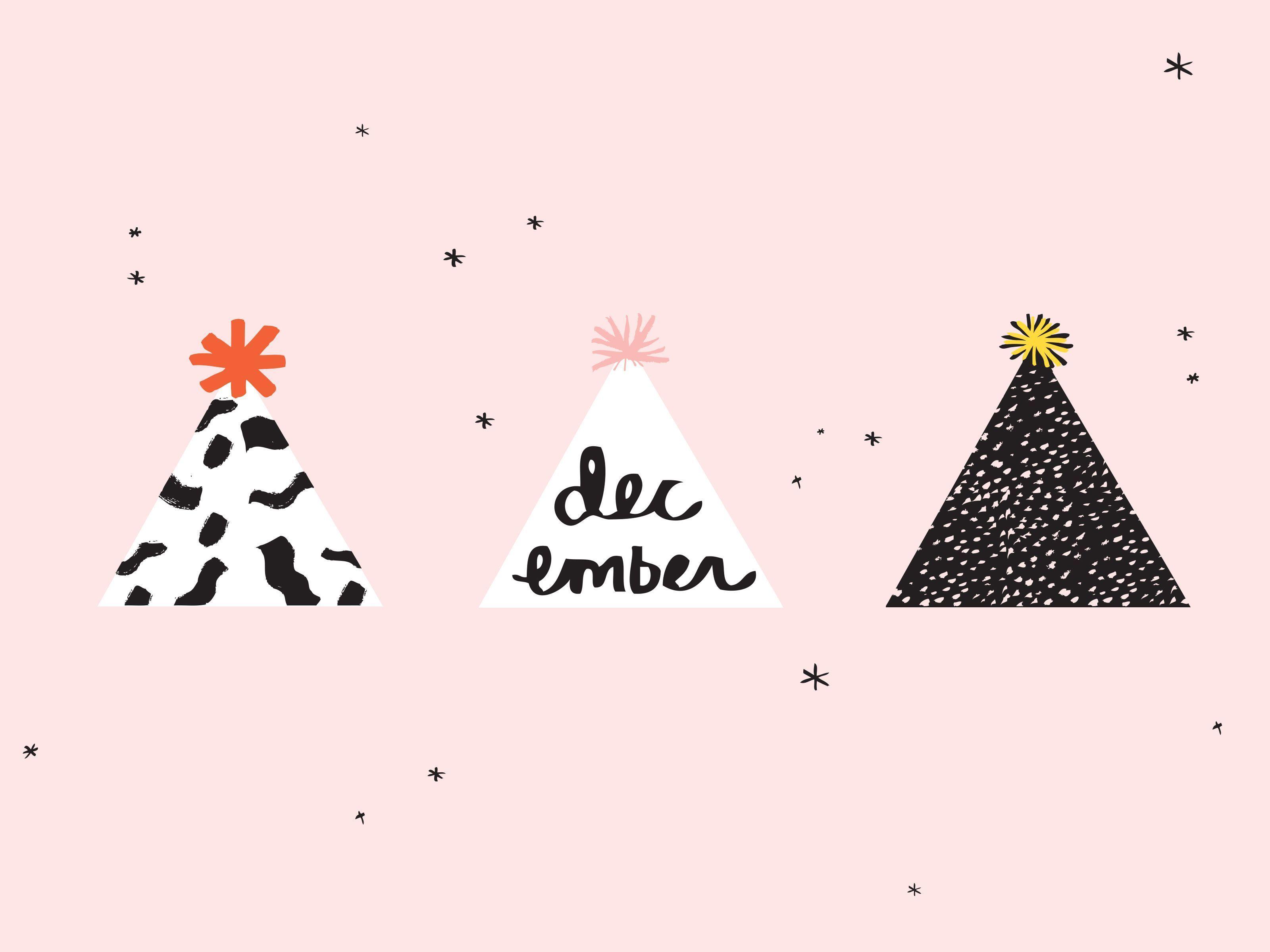 Aesthetic Pinterest Cute Christmas Desktop Wallpaper