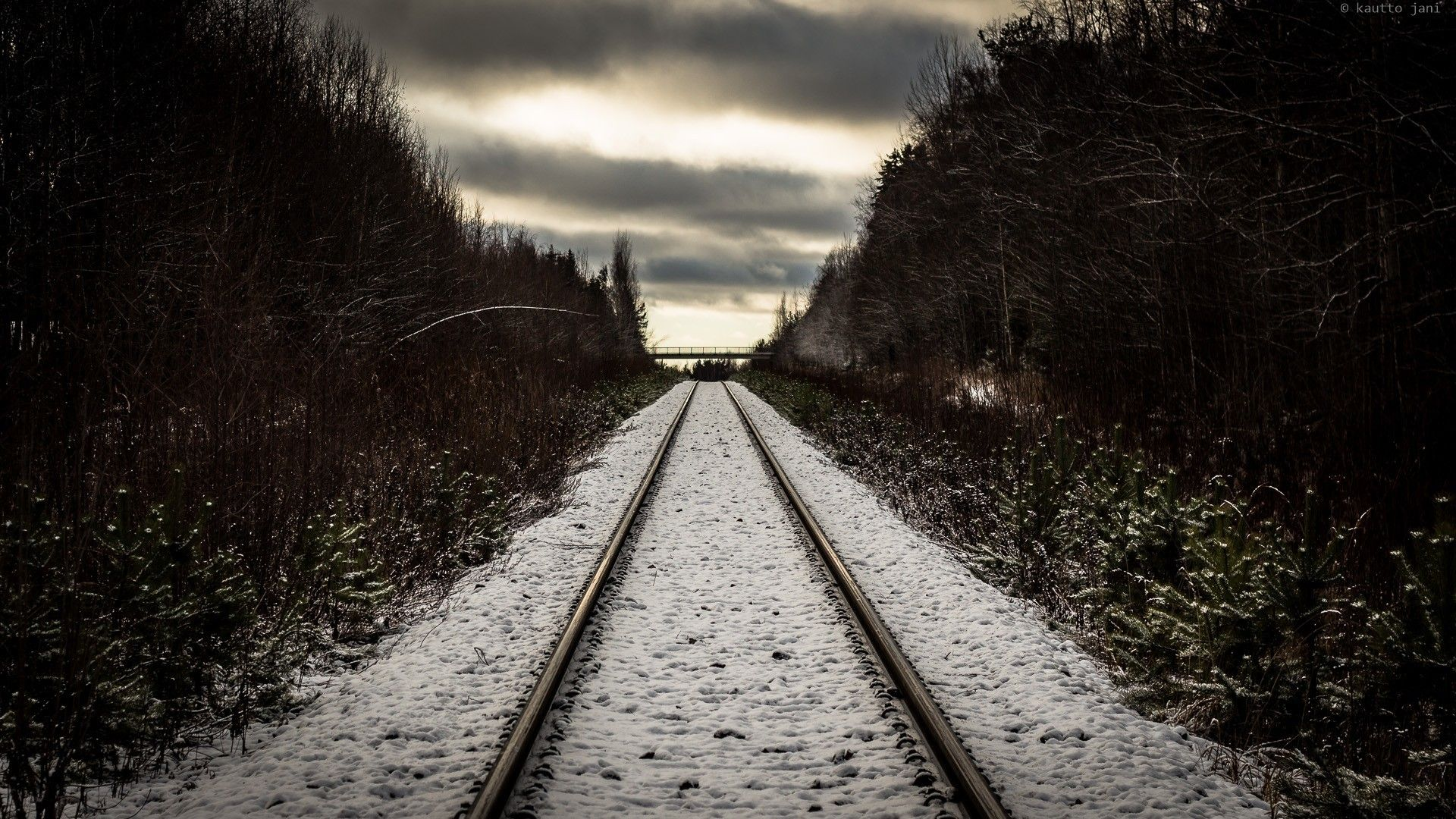 Train Tracks 4k Mobile Wallpapers Top Free Train Tracks 4k