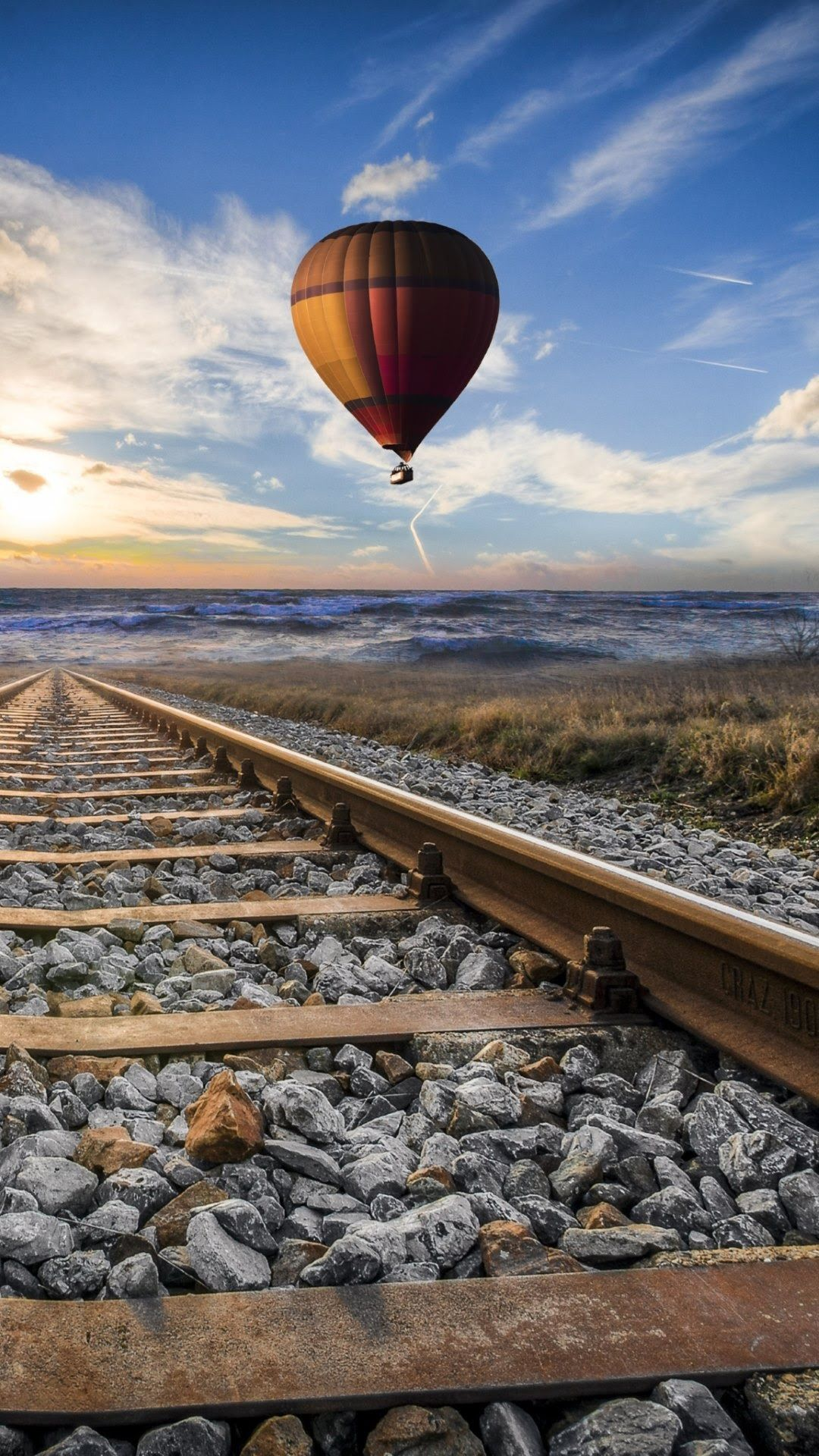 Train Tracks 4K Mobile Wallpapers - Top Free Train Tracks ...