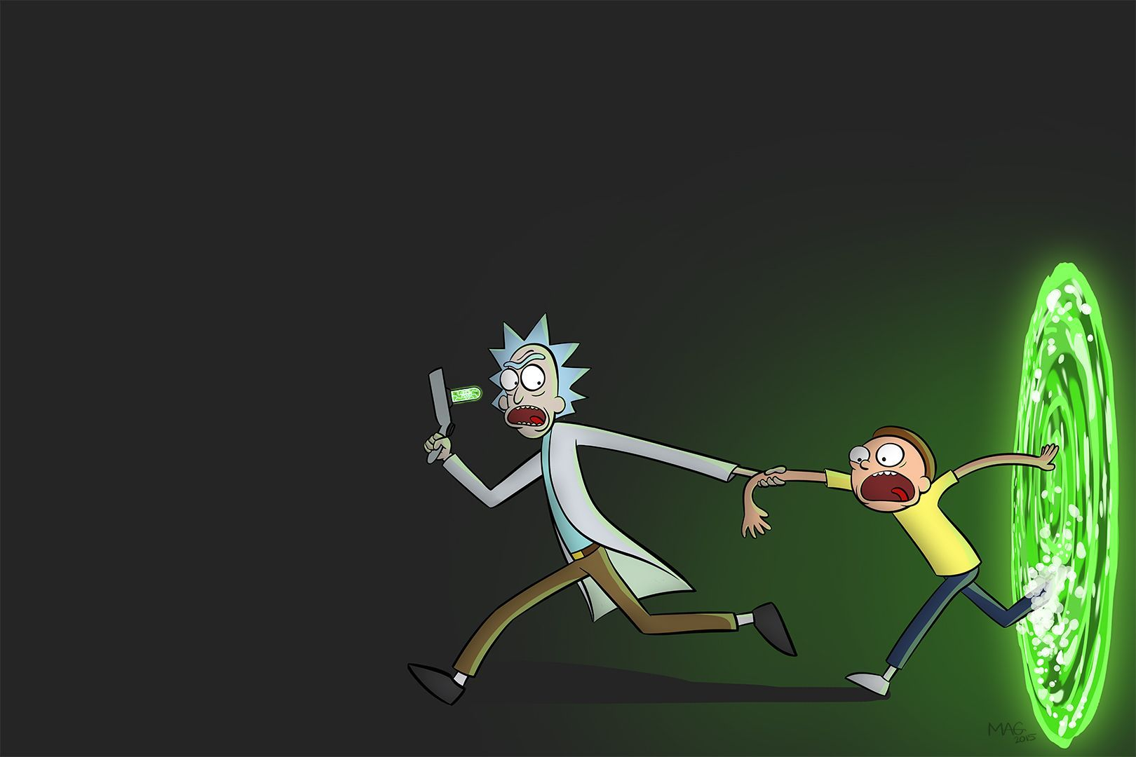 Rick And Morty Desktop Wallpapers Top Free Rick And Morty