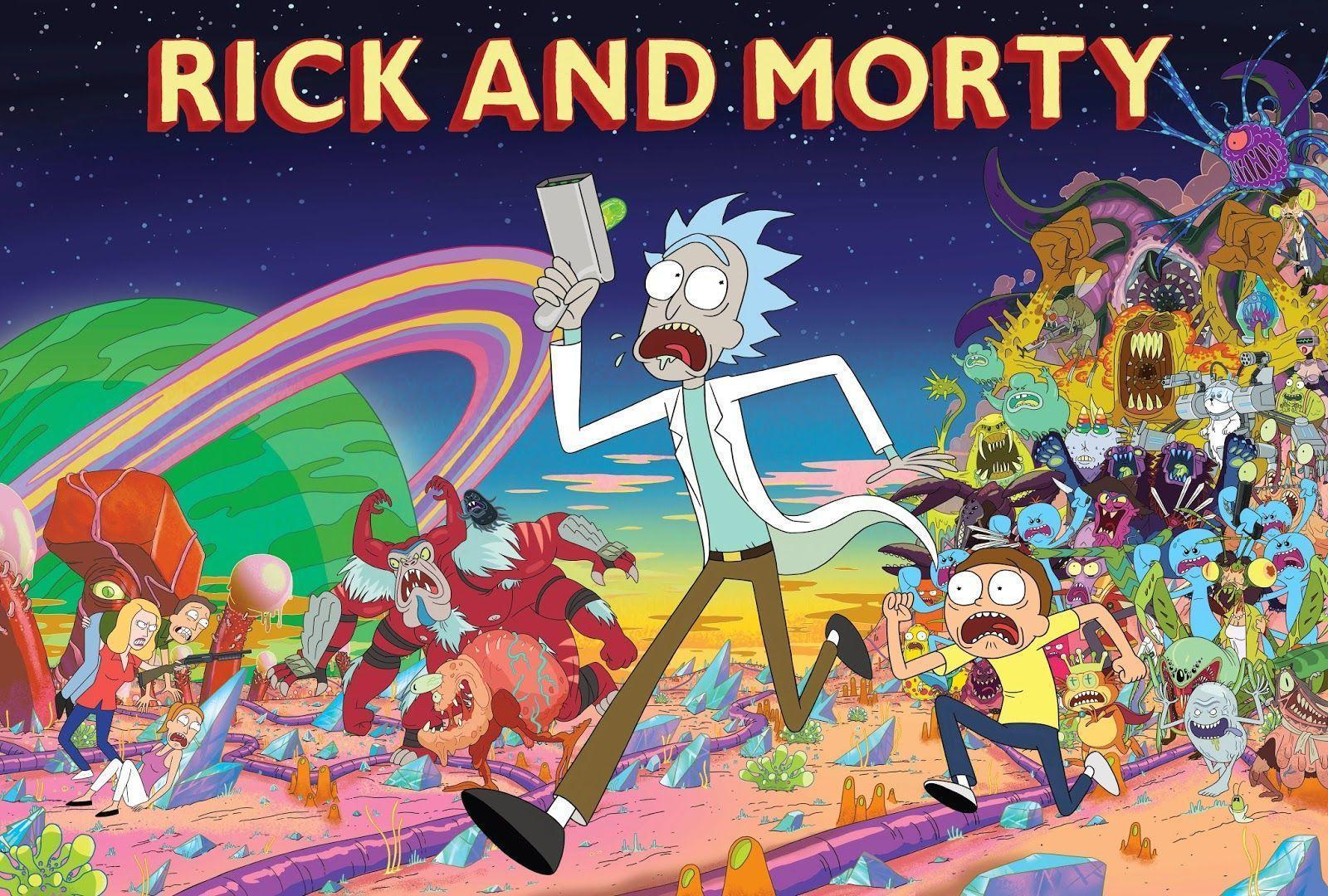 Rick And Morty Laptop Wallpapers Top Free Rick And Morty Laptop Backgrounds Wallpaperaccess