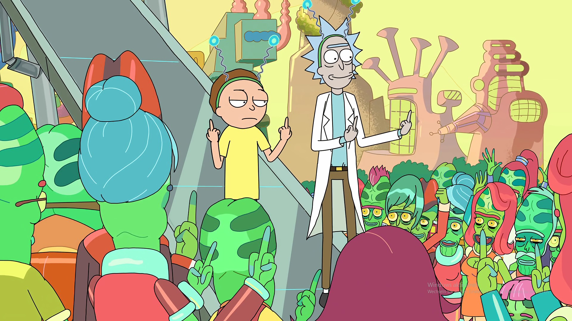 """1920x1080 Rick and Morty Animated Series Wallpaper #17164""""> · Download · 1920x1080 ..."""