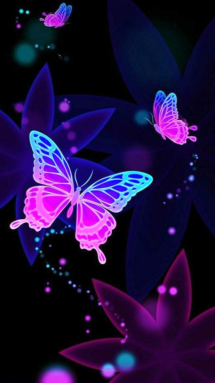 Floating Purple Butterfly Wallpapers - Top Free Floating ...