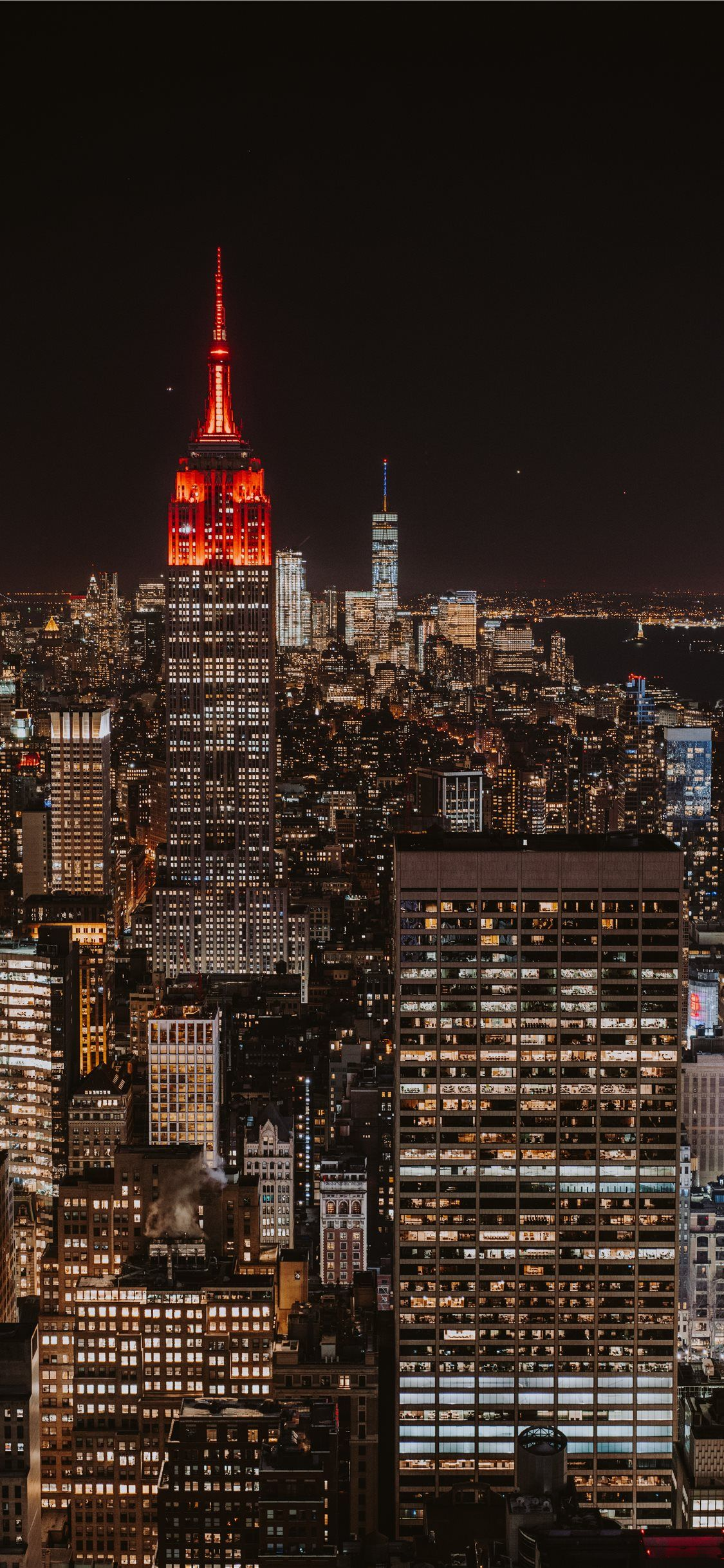 New York Skyline Iphone Wallpapers Top Free New York Skyline Iphone Backgrounds Wallpaperaccess