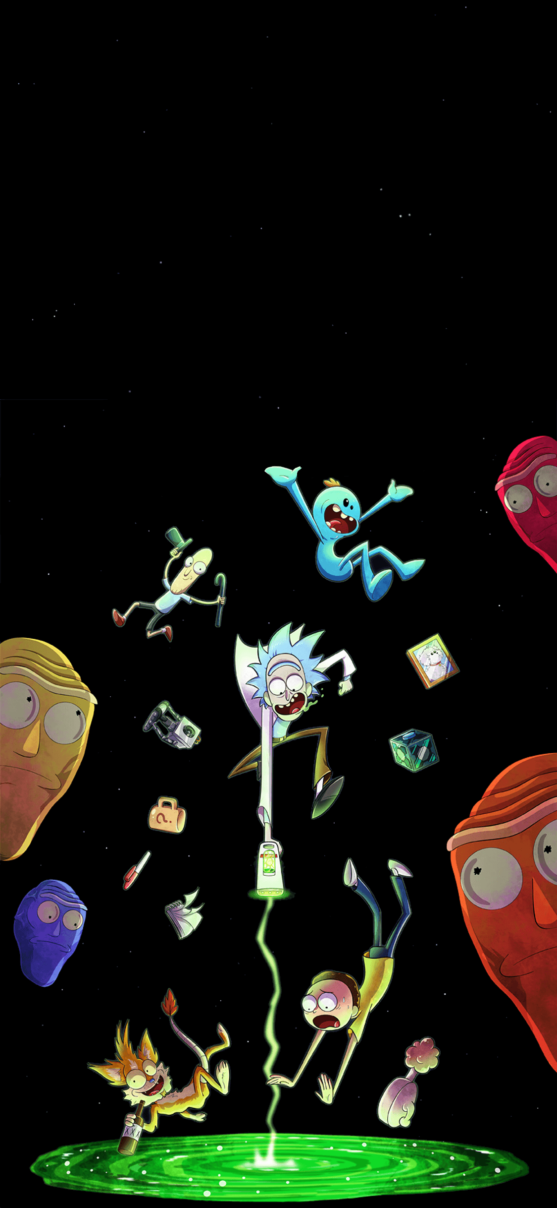 Rick And Morty Iphone Wallpapers Top Free Rick And Morty Iphone