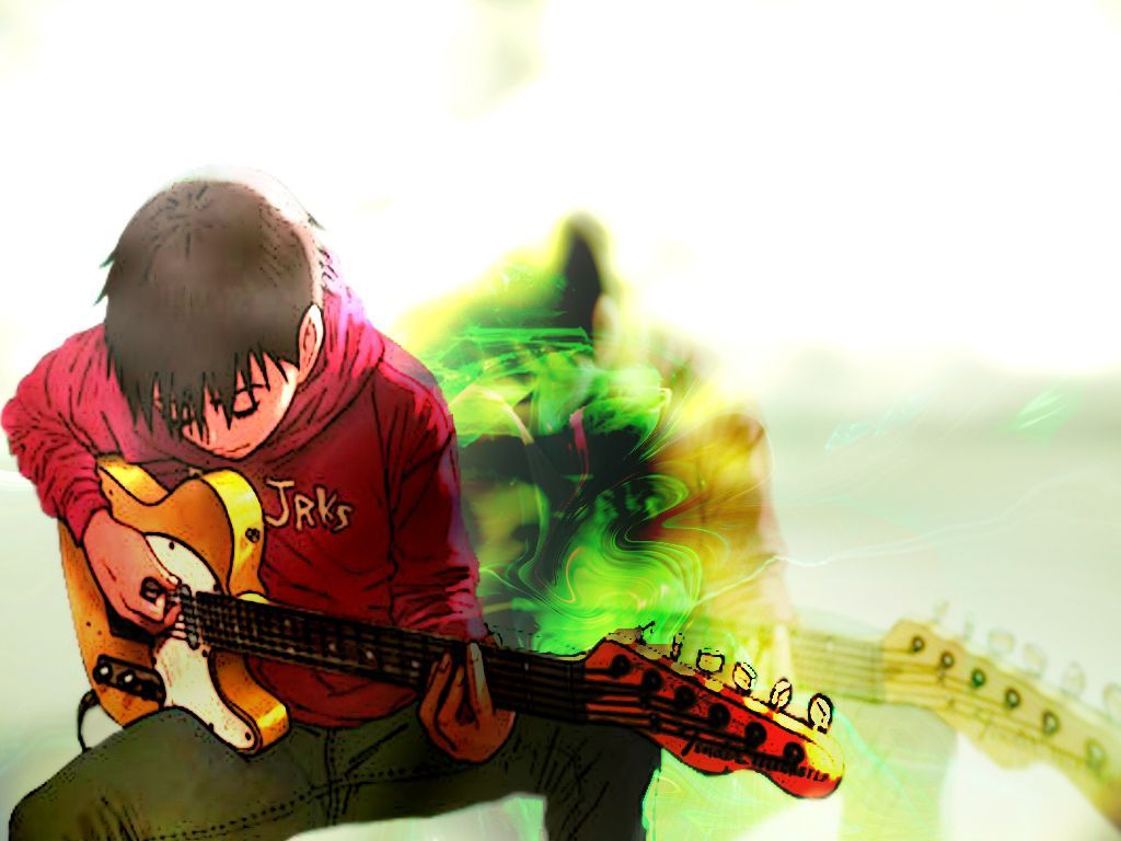 Anime Guitarist Wallpapers Top Free Anime Guitarist Backgrounds Wallpaperaccess