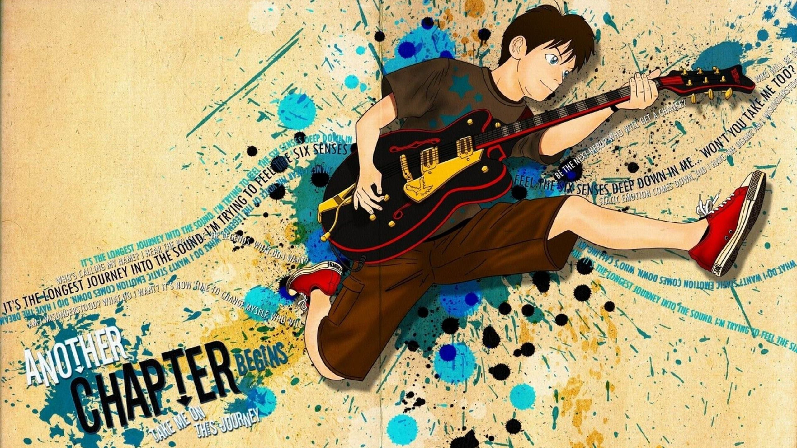 Anime With Guitar Wallpapers Top Free Anime With Guitar Backgrounds Wallpaperaccess