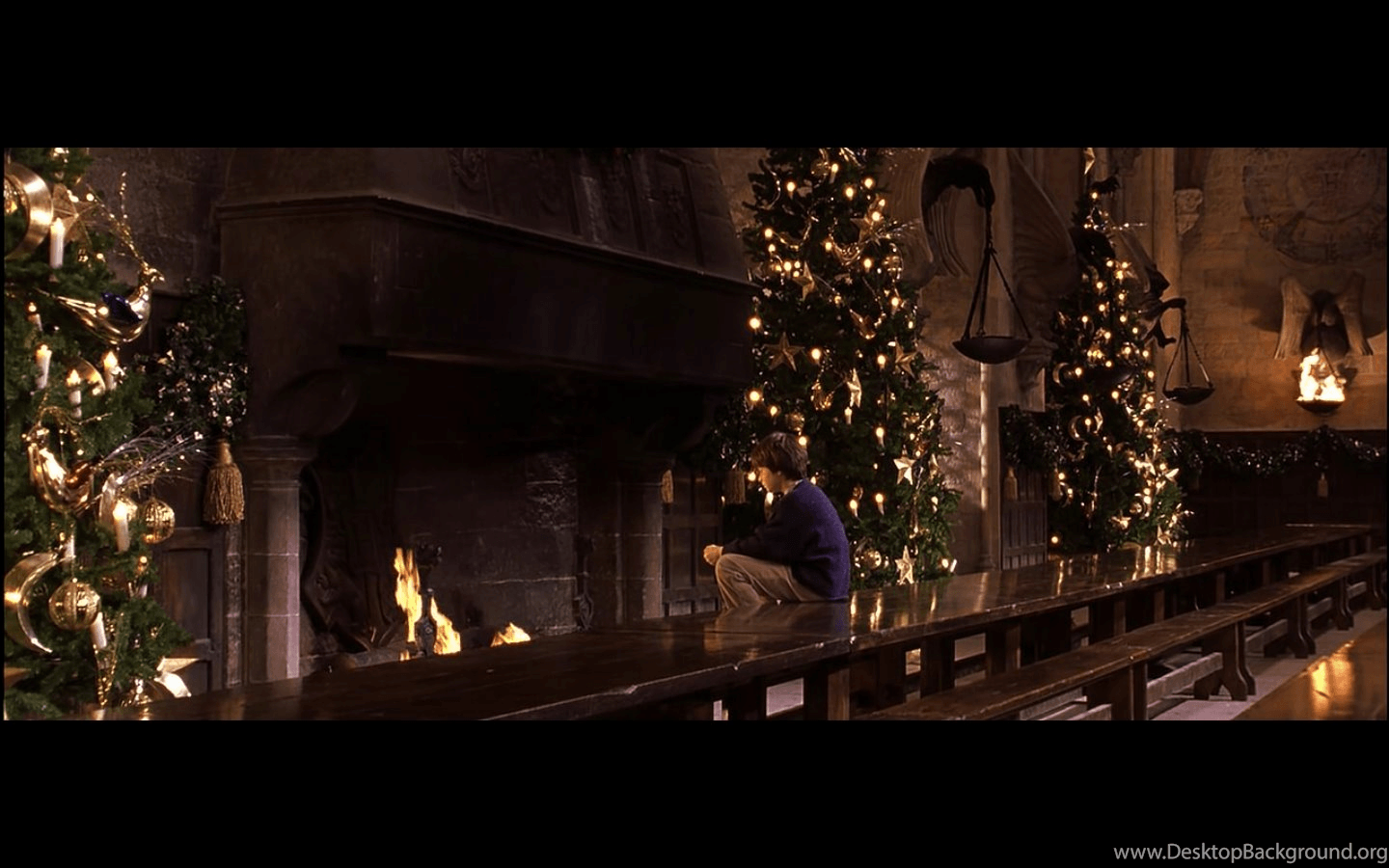 Harry Potter Christmas Computer Wallpapers Top Free Harry Potter Christmas Computer Backgrounds Wallpaperaccess