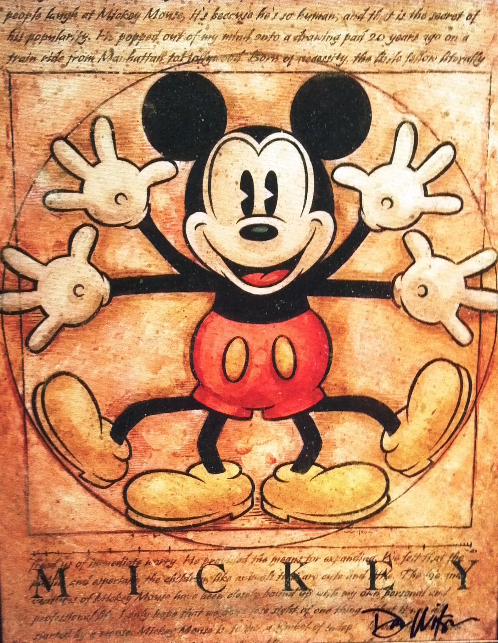 Vintage Mickey Mouse Wallpapers Top Free Vintage Mickey
