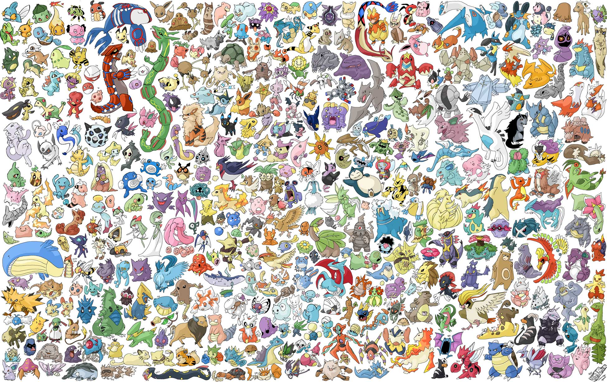 All Pokemon Wallpapers Top Free All Pokemon Backgrounds Wallpaperaccess