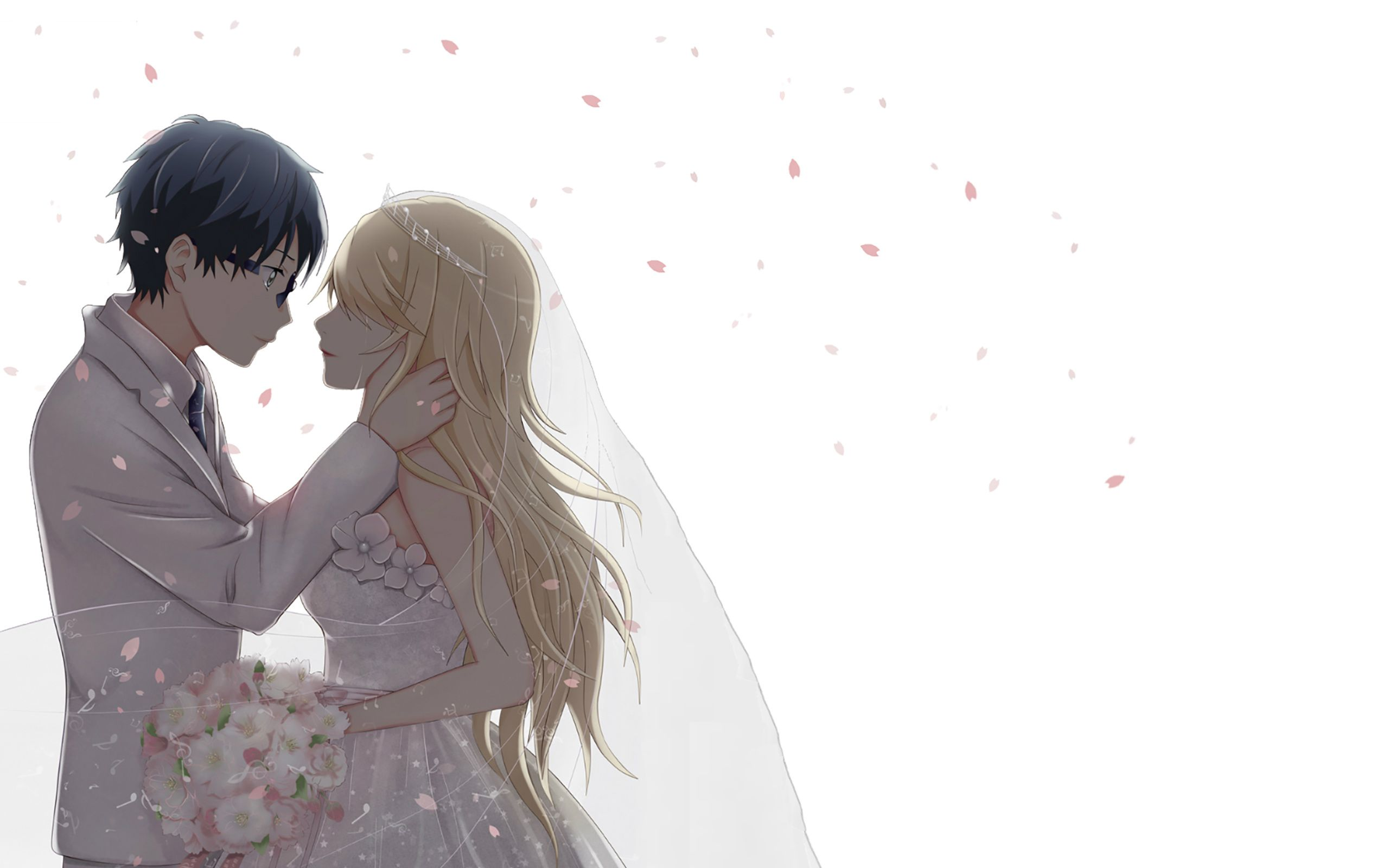 Anime Couple Wallpapers Top Free Anime Couple Backgrounds Wallpaperaccess