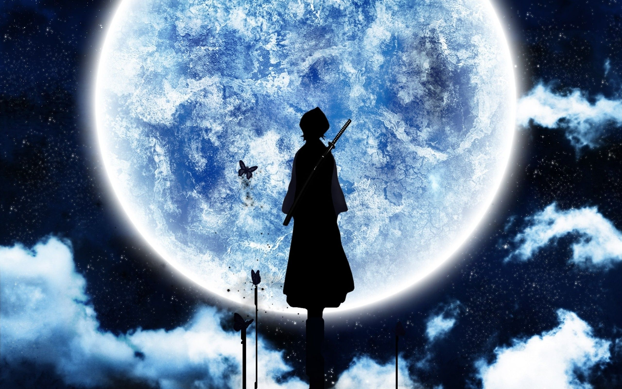 Anime Moon Wallpapers Top Free Anime Moon Backgrounds