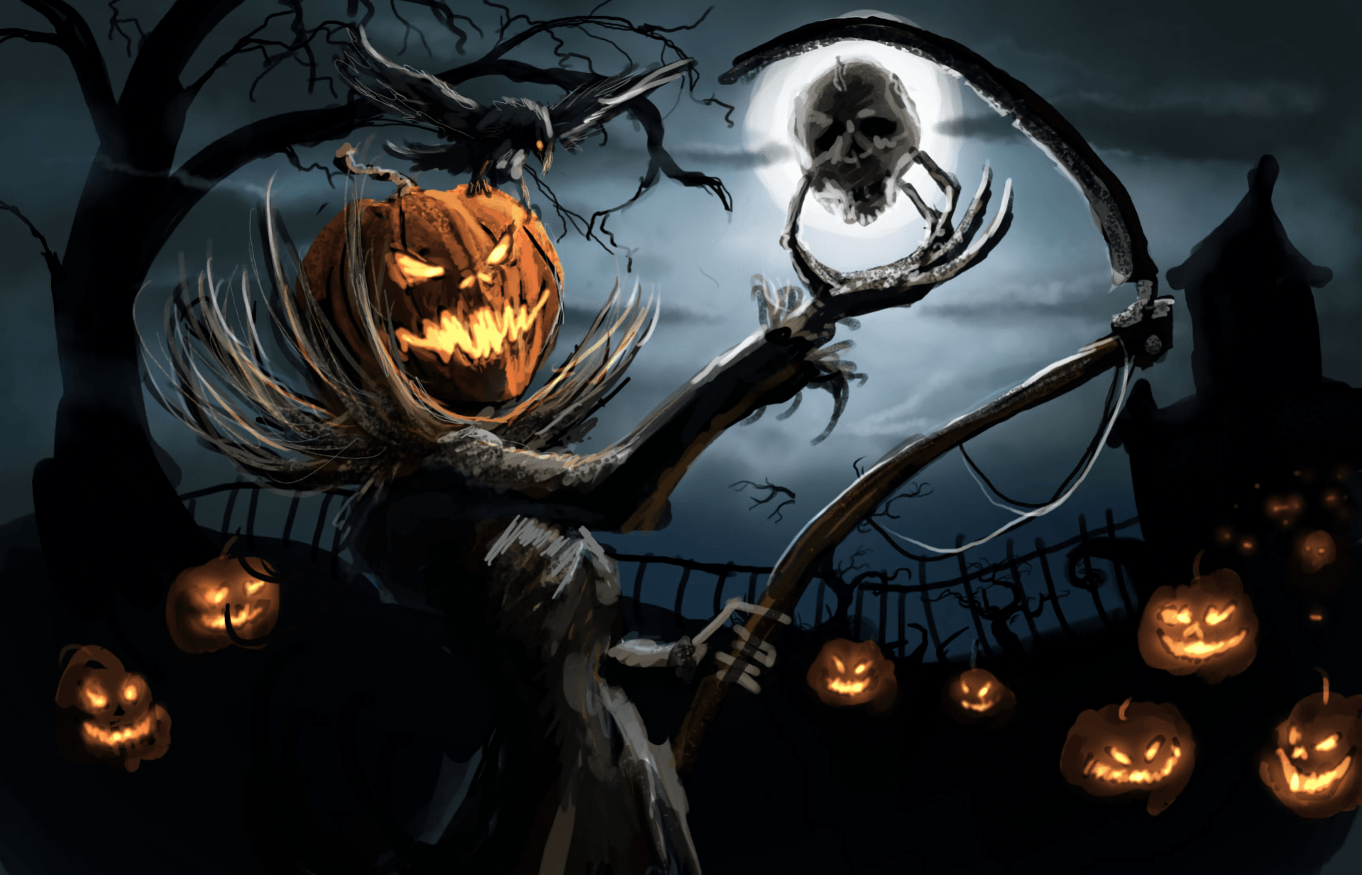 Halloween Wallpapers - Top Free Halloween Backgrounds - WallpaperAccess