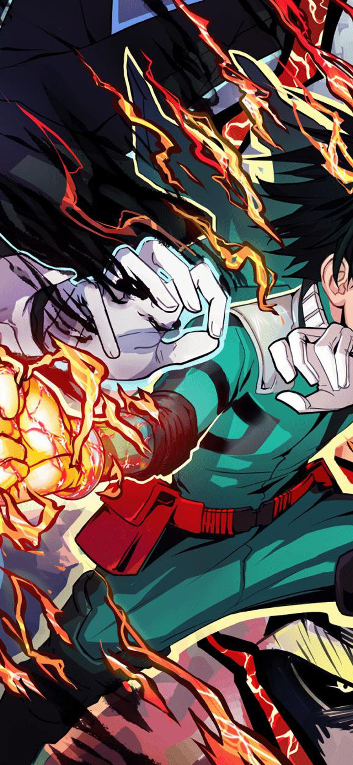 My Hero Academia 2k Mobile Wallpapers Top Free My Hero Academia