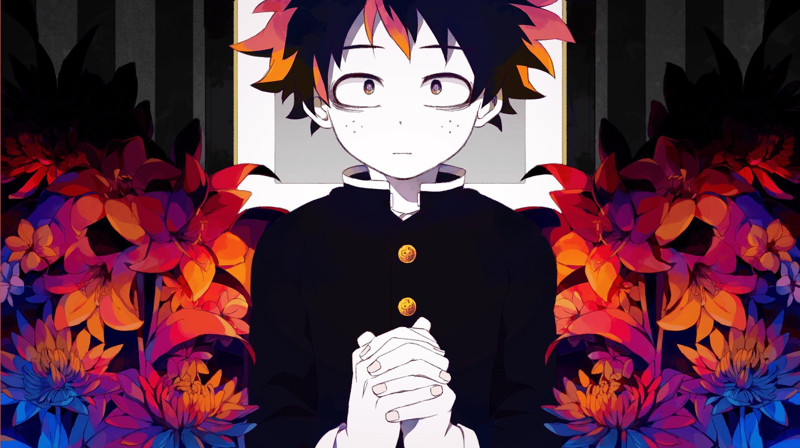 Hình nền kỹ thuật số nhân vật anime nam 2568x1440, Boku no Hero