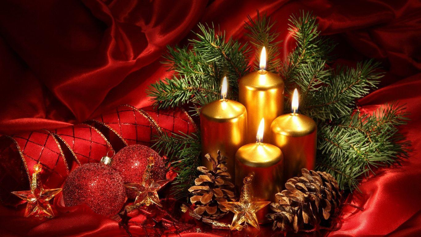 Christmas Candle Wallpapers Top Free Christmas Candle