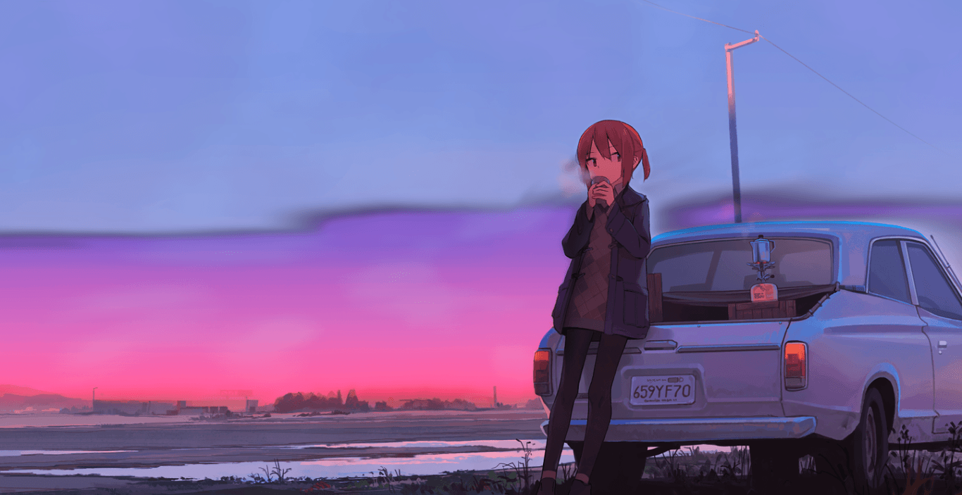 "1366x703 Chill & Study 'A New Day' [Animated][Uwide] [Wallpaper Engine Anime]"">"