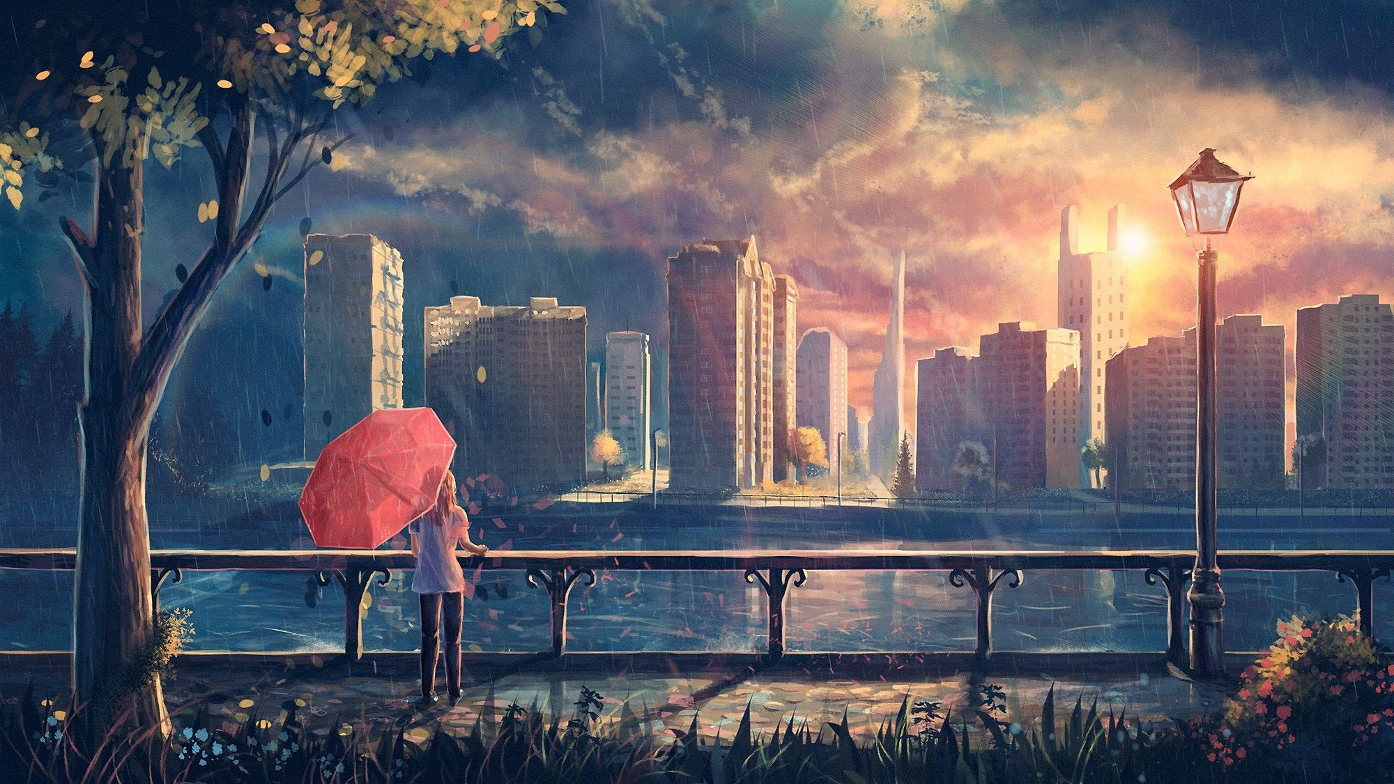 Chill Anime Wallpapers - Top Free Chill Anime Backgrounds ...