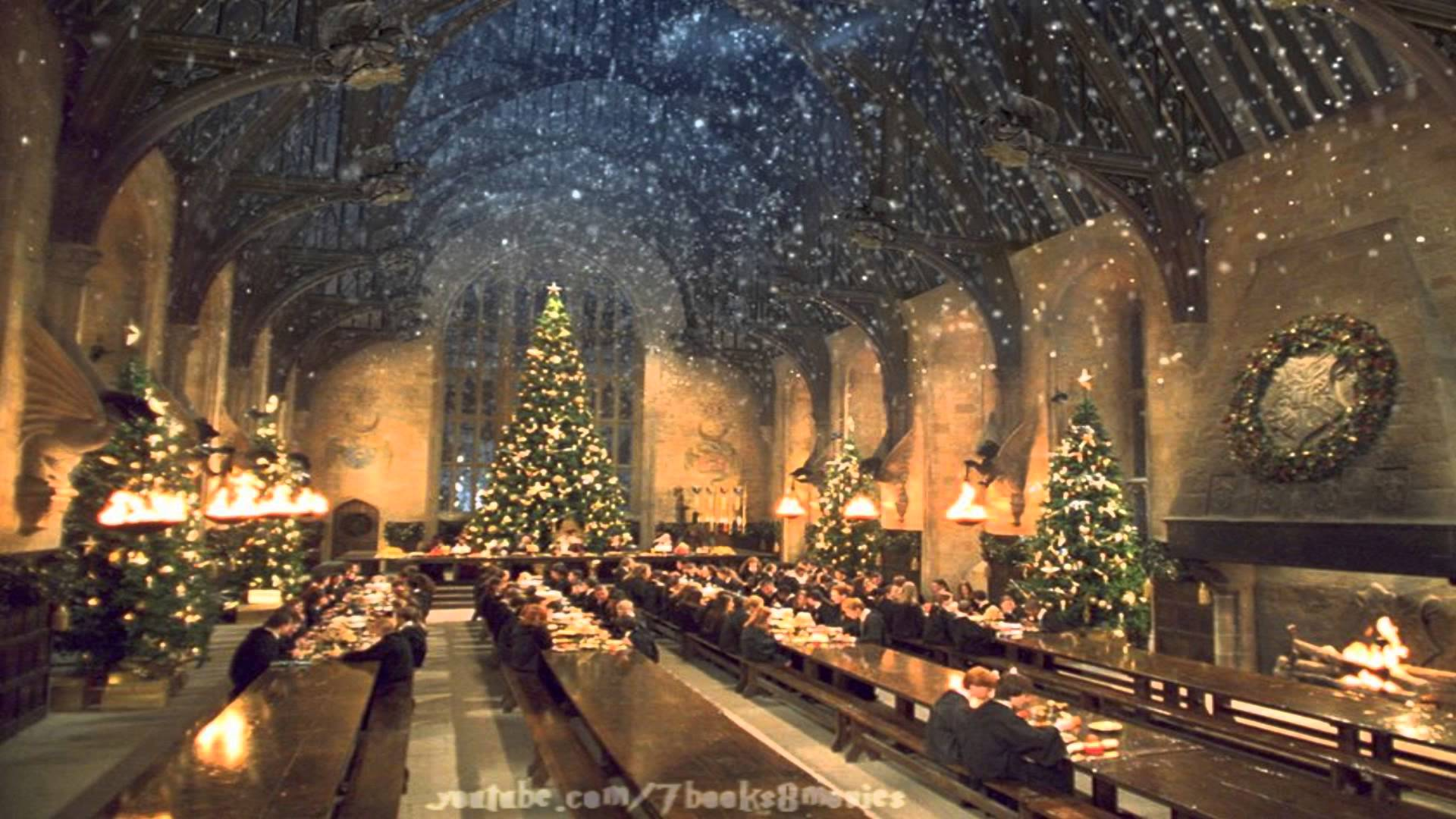 Harry Potter Christmas Wallpaper Hd.Large Harry Potter Christmas Wallpapers Top Free Large