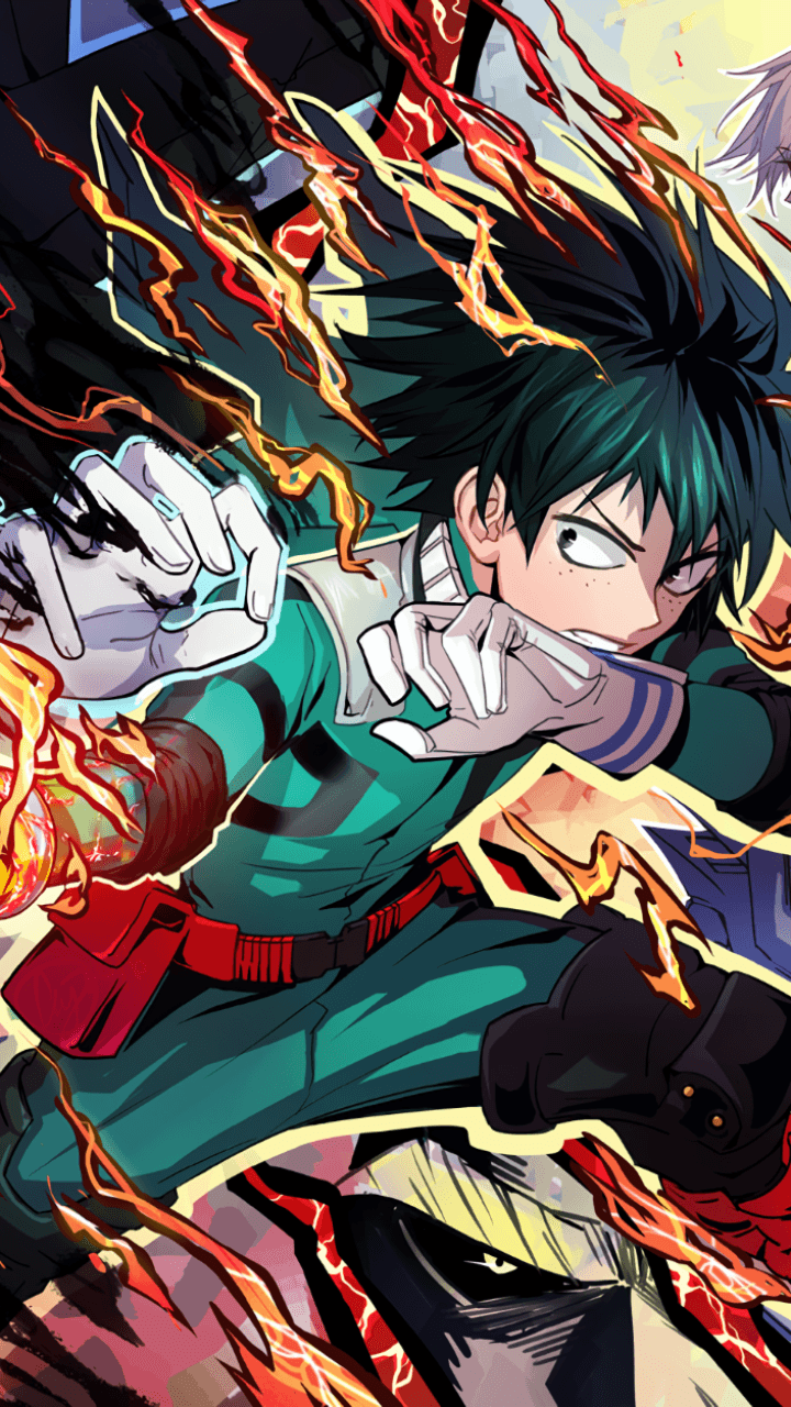 My Hero Academia Iphone Wallpapers Top Free My Hero Academia