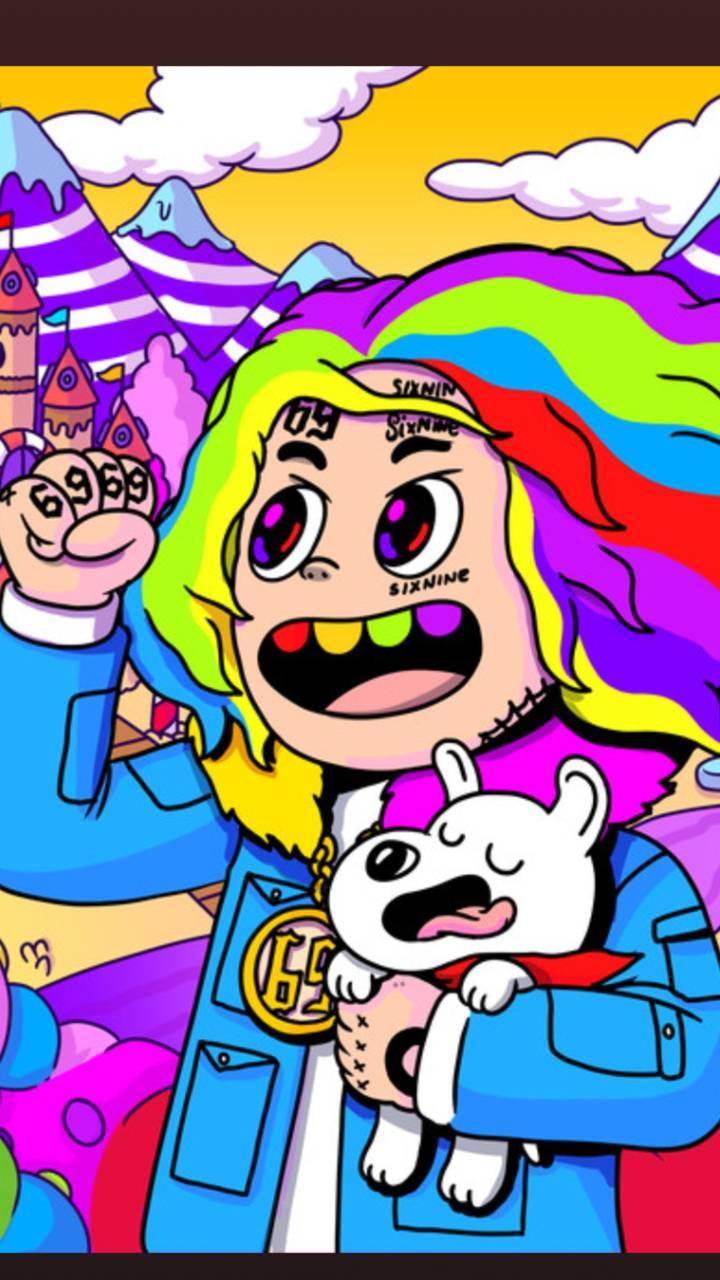 Cartoon 6Ix9ine Wallpapers - Top Free Cartoon 6Ix9ine ...