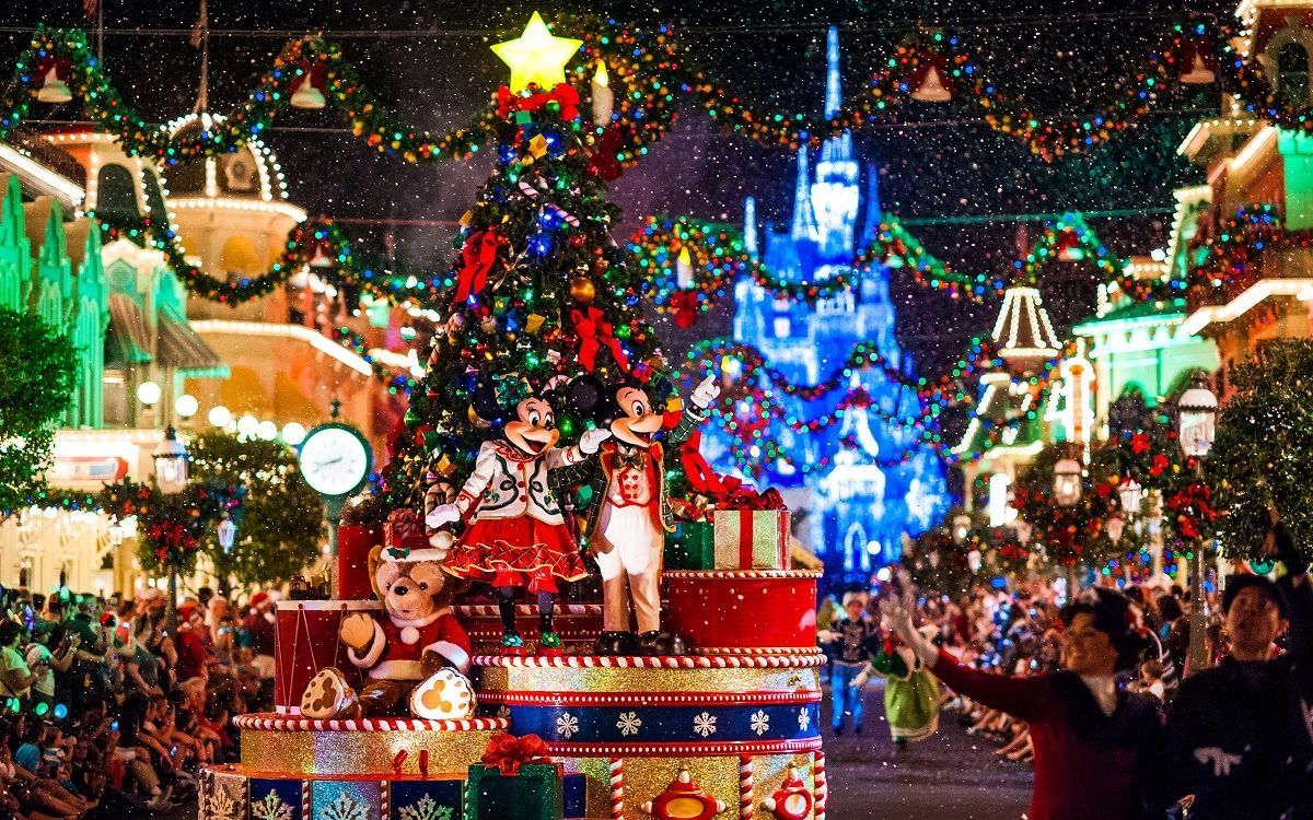 Disneyland Christmas Wallpapers Top Free Disneyland Christmas