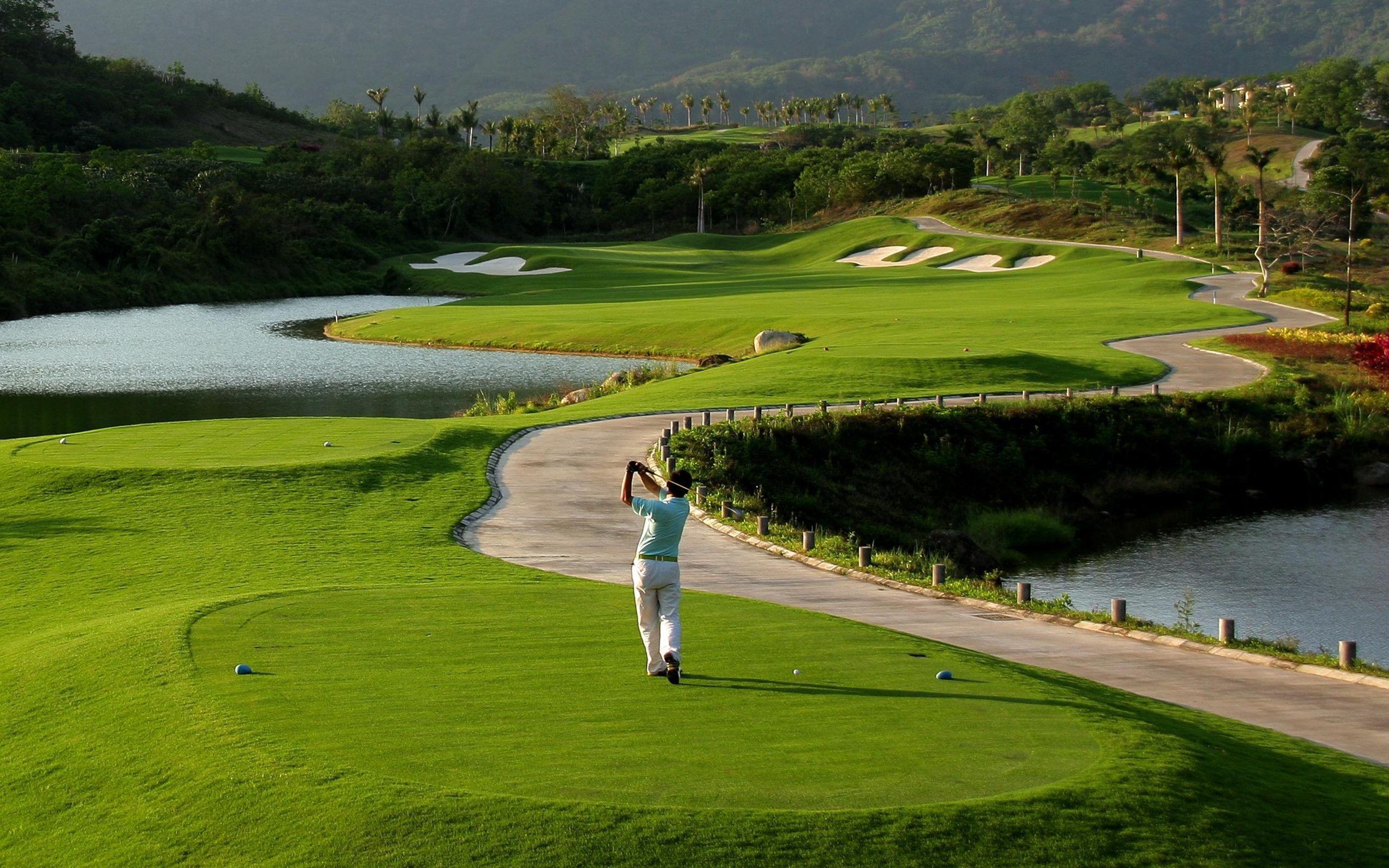 Golfing Desktop Wallpapers Top Free Golfing Desktop Backgrounds Wallpaperaccess