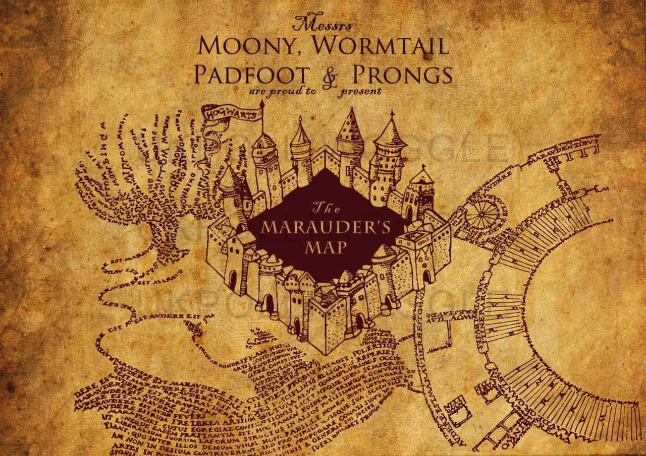 Harry Potter Marauder\'s Map Wallpapers - Top Free Harry ...