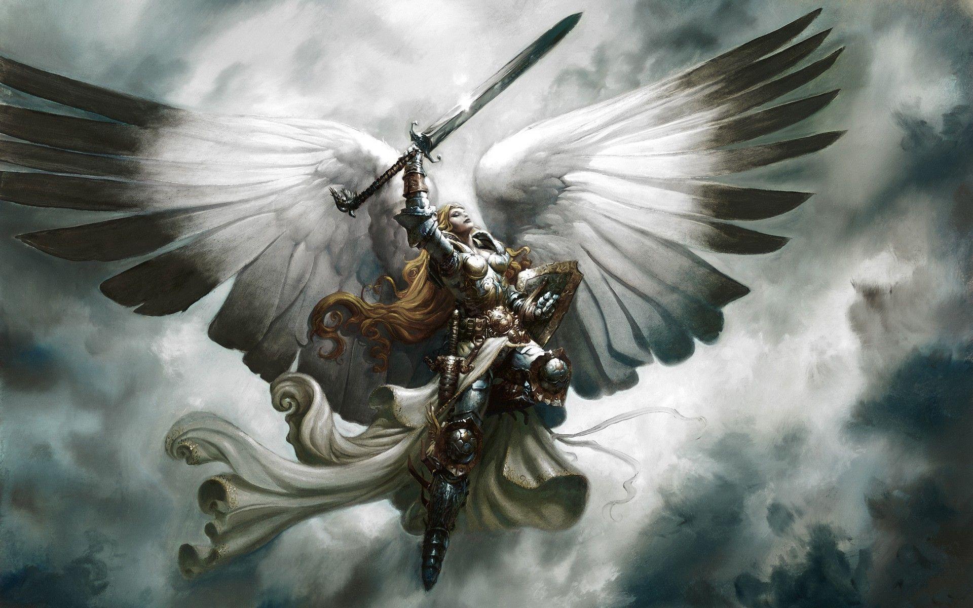 Angel Warrior Wallpapers Top Free Angel Warrior Backgrounds