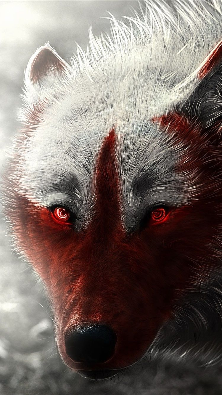 Red Wolf Eyes Iphone Wallpapers Top Free Red Wolf Eyes