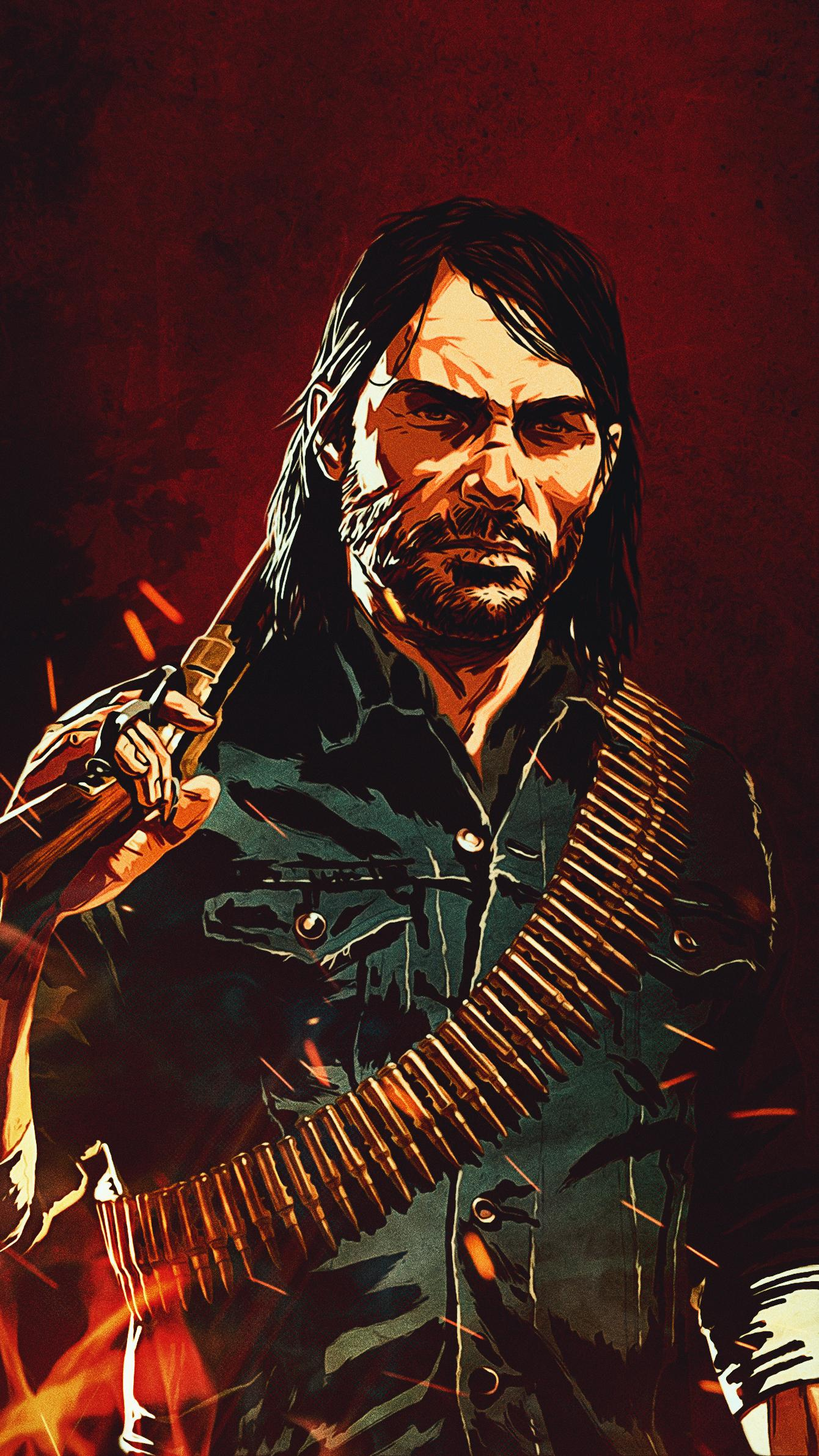John Marston Wallpapers Top Free John Marston Backgrounds