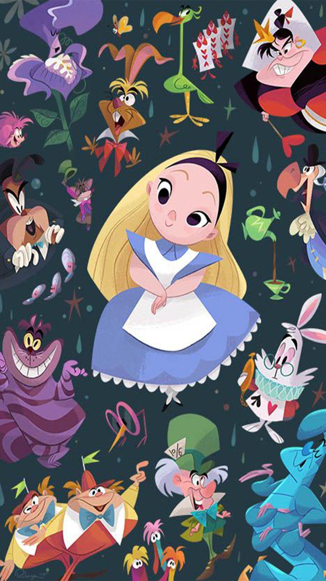 Alice In Wonderland Iphone Wallpapers Top Free Alice In
