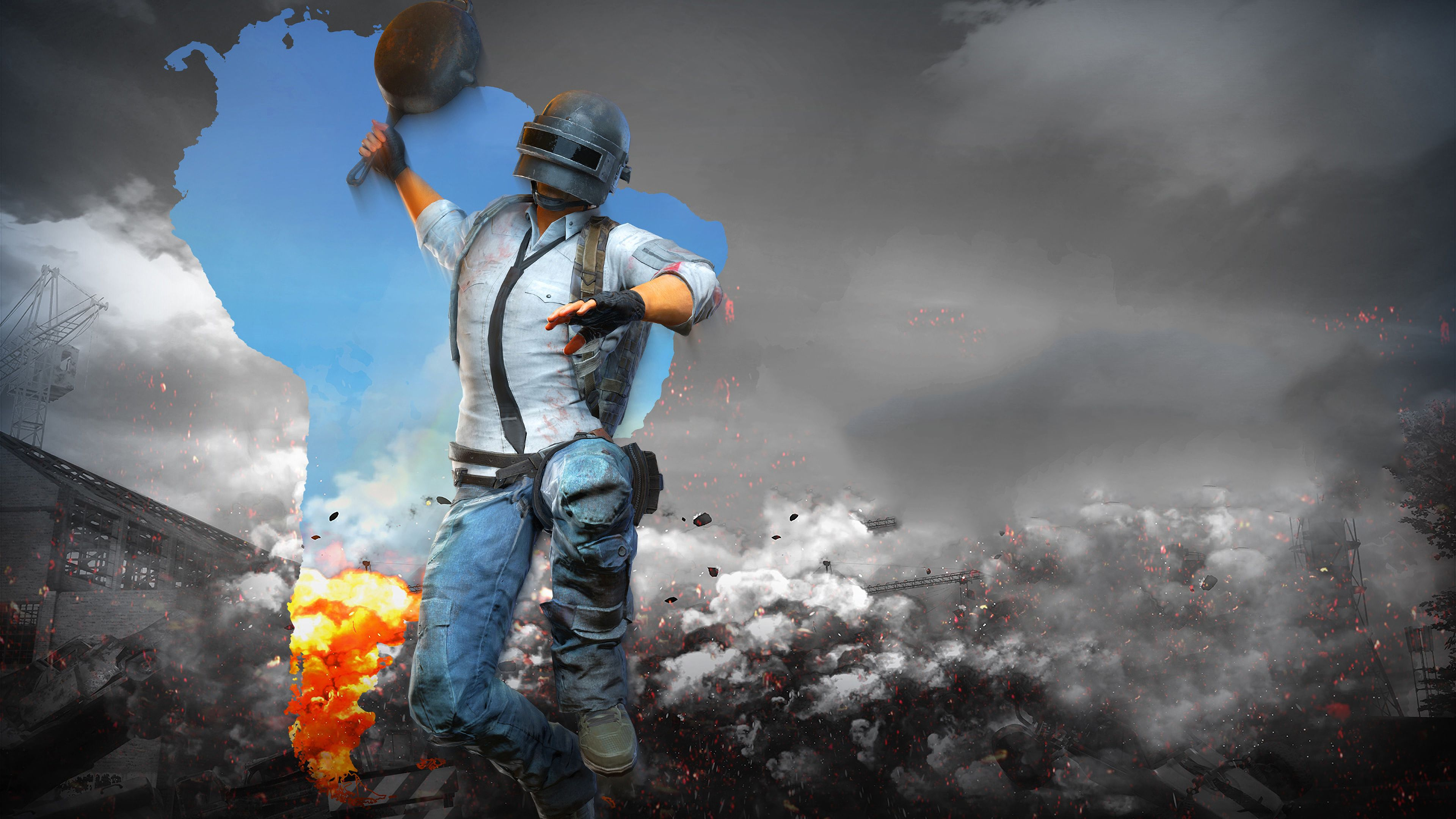 3840x2160 Pubg Game Helmet Guy 4k 4k Hd 4k Wallpapers: PUBG 4K Gaming Wallpapers