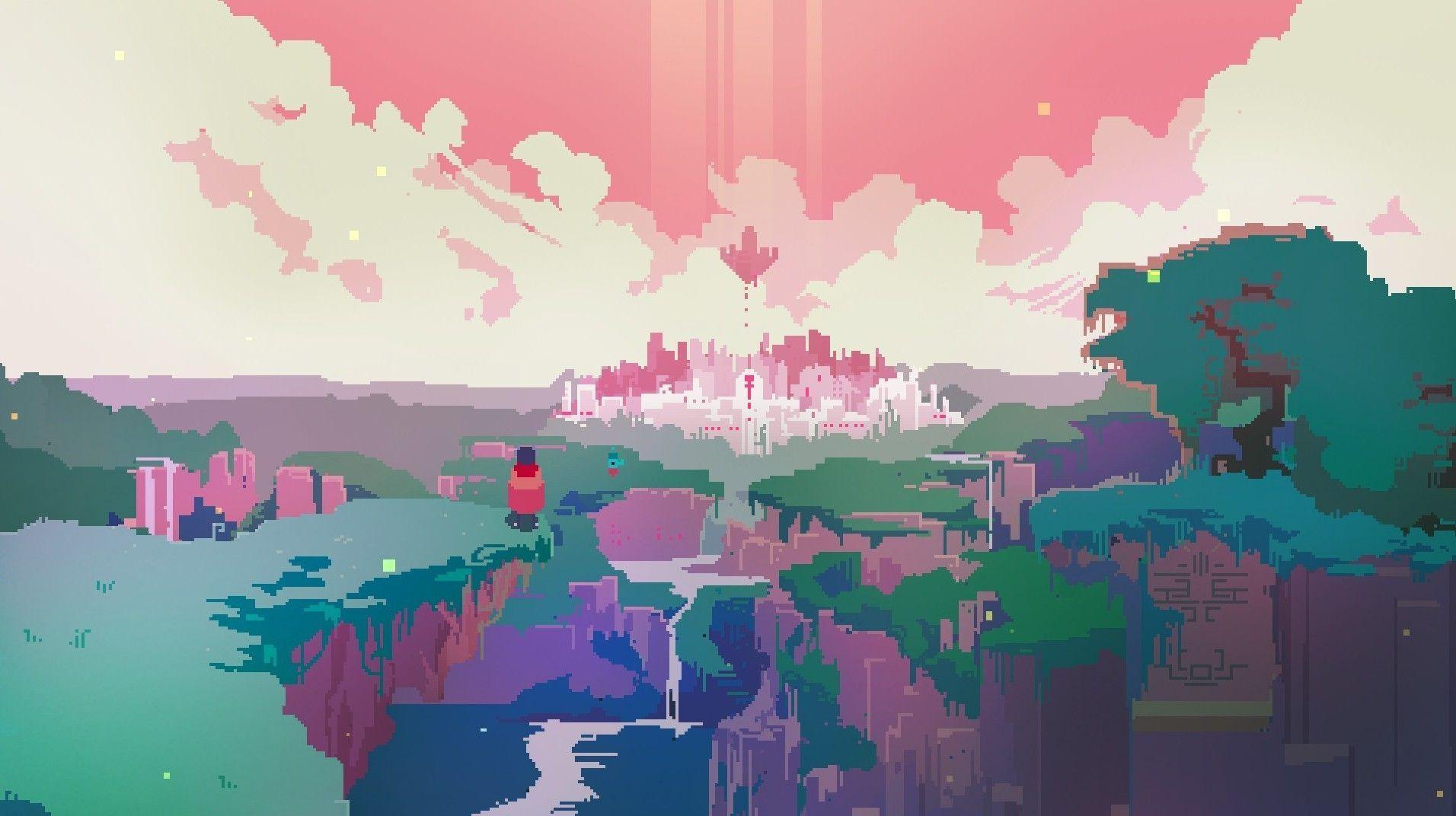 aesthetic pixel desktop wallpapers